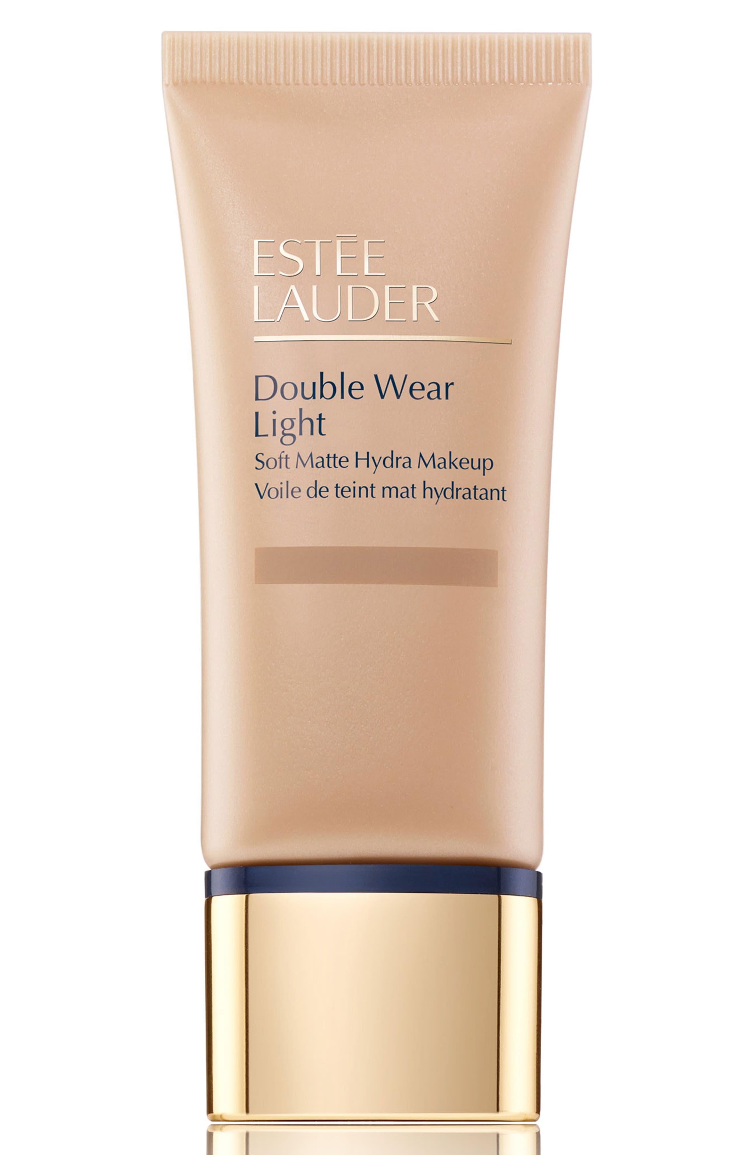 Estee Lauder Double Wear Light Soft Matte Hydra Makeup - 3C2 Pebble