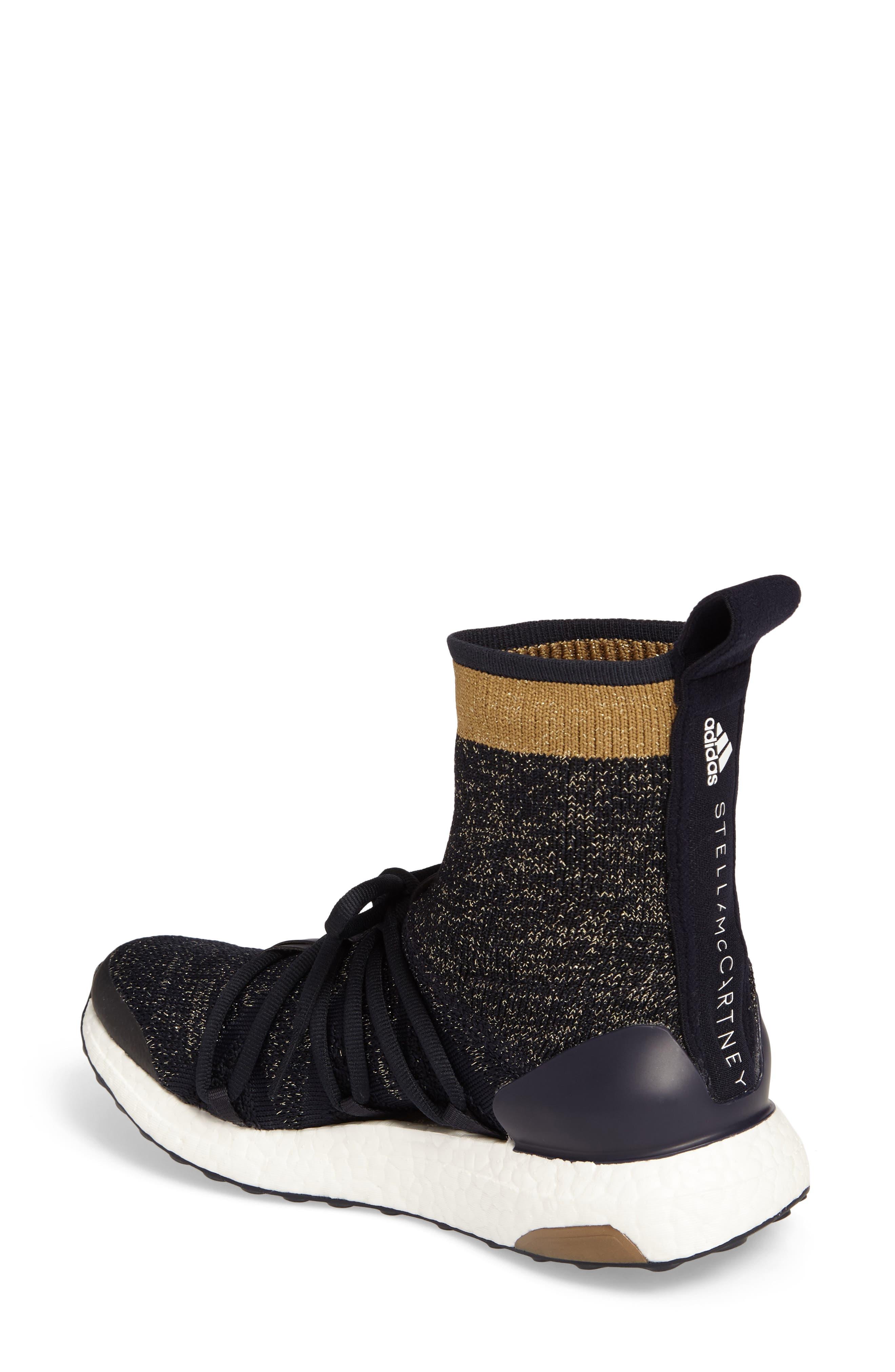 by Stella McCartney UltraBoost X Primeknit Mid Sneaker,                             Alternate thumbnail 2, color,                             400
