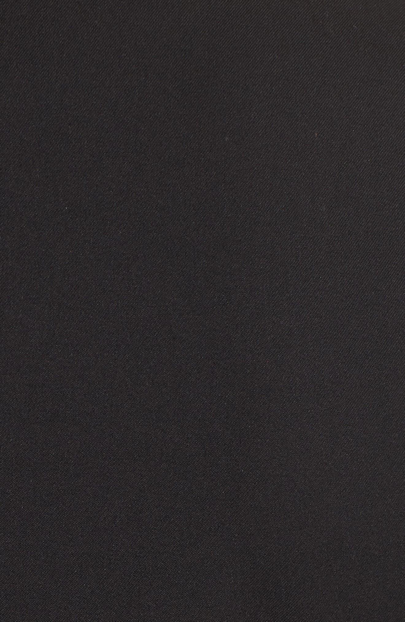 Long Blazer,                             Alternate thumbnail 7, color,                             BLACK