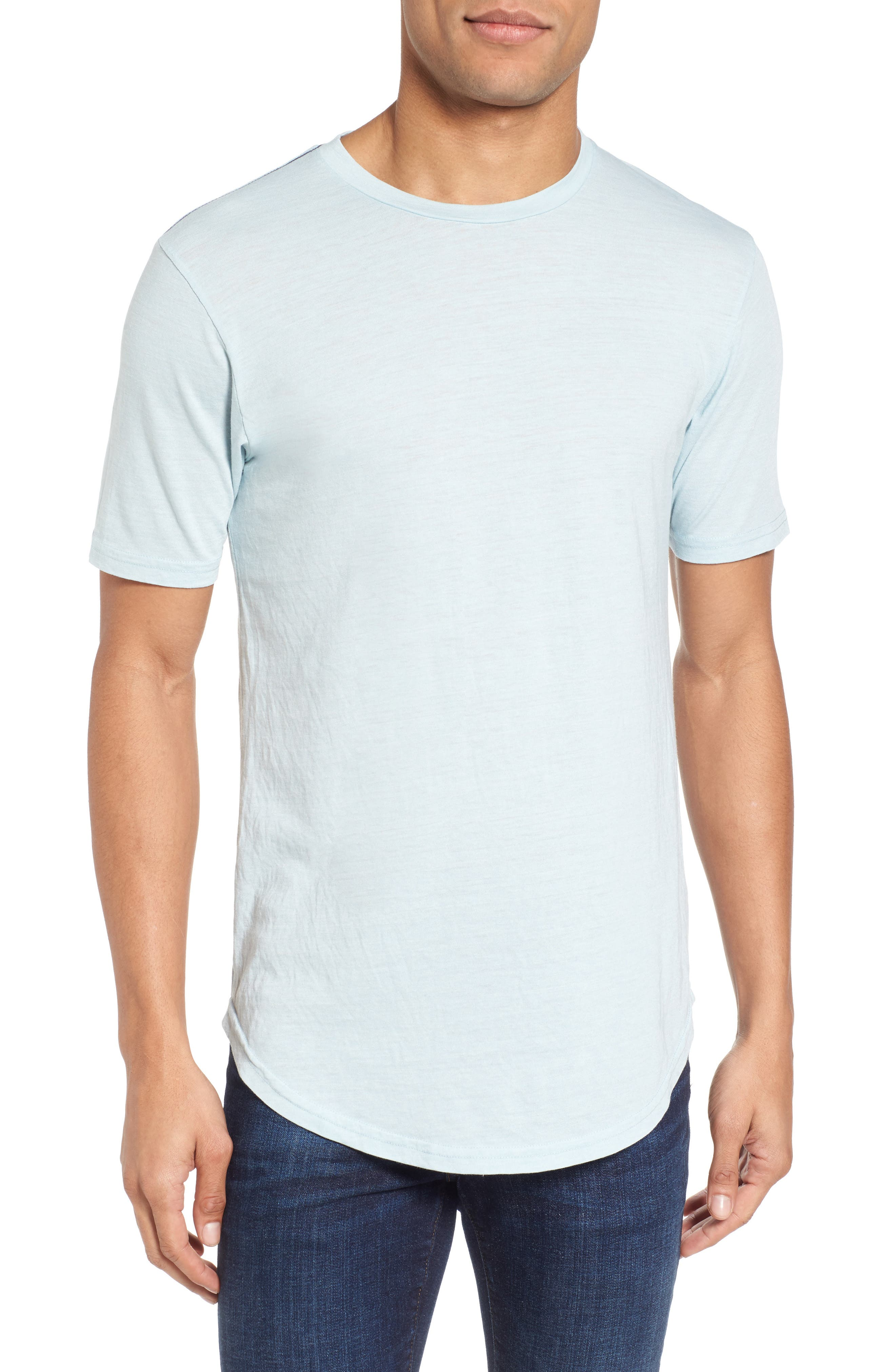 Scallop Triblend Crewneck T-Shirt,                             Main thumbnail 8, color,