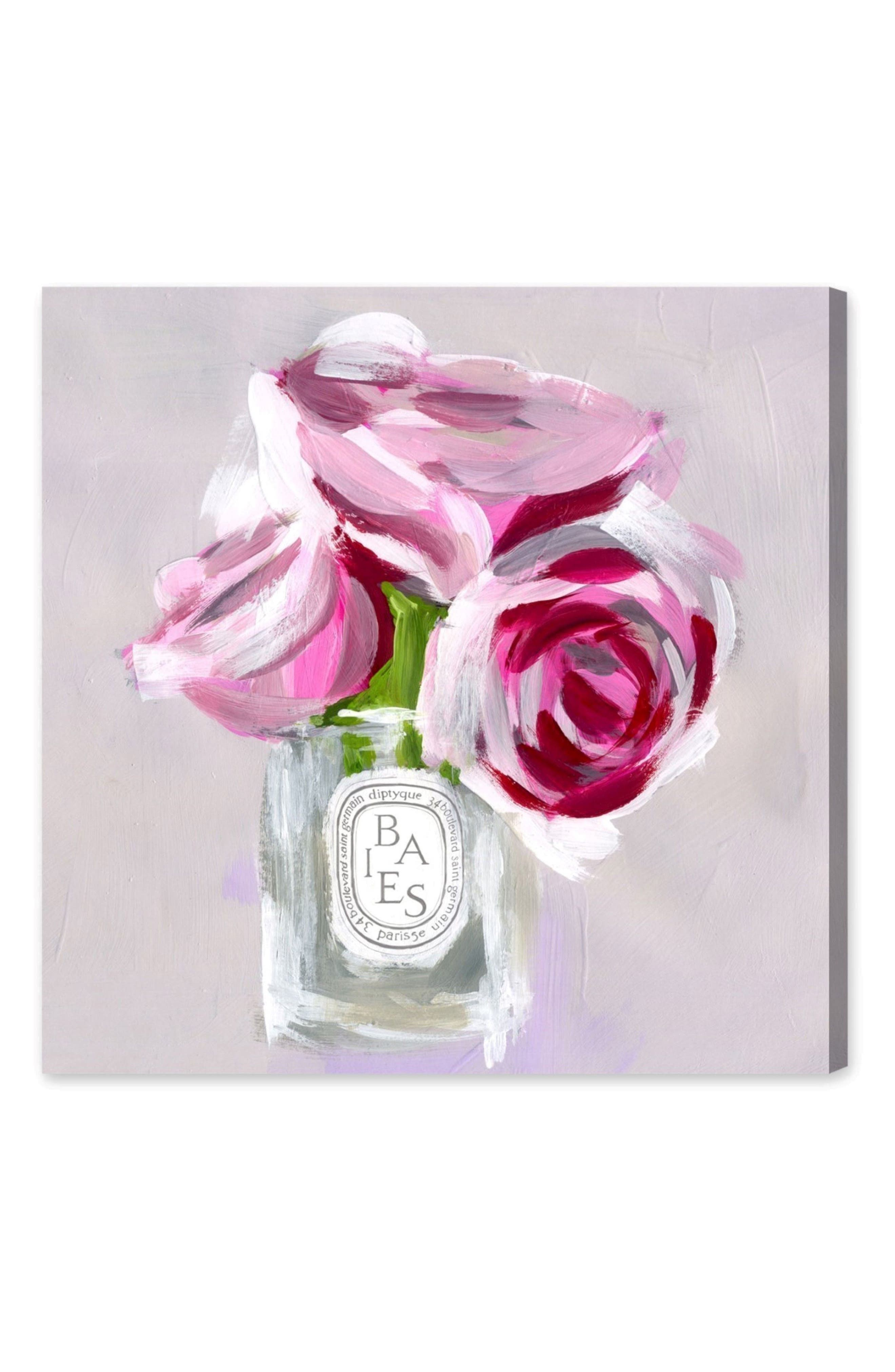 'Rose Candle' Canvas Wall Art,                             Alternate thumbnail 2, color,                             020