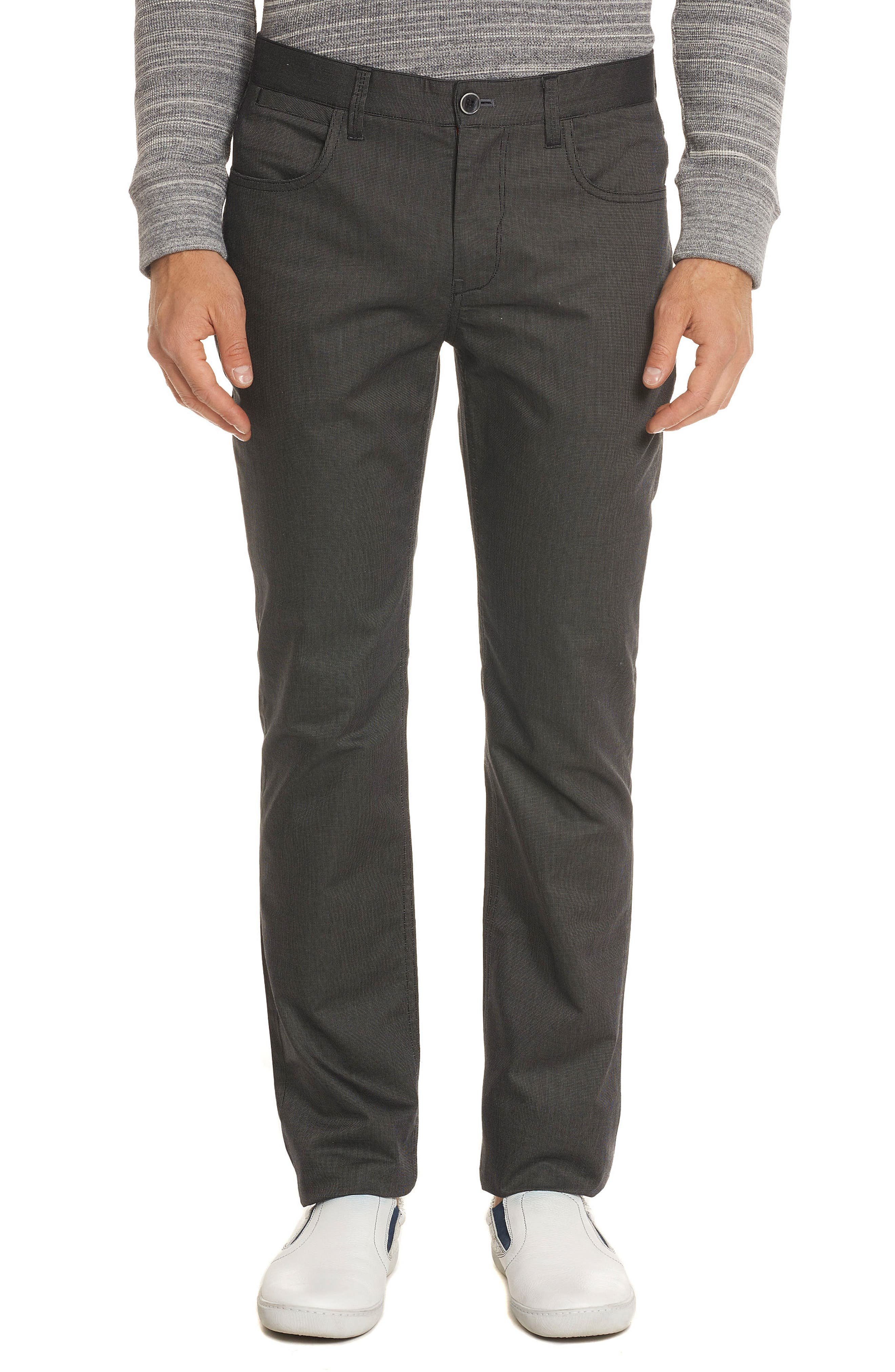 Prio Tailored Fit Pants,                             Main thumbnail 1, color,                             001