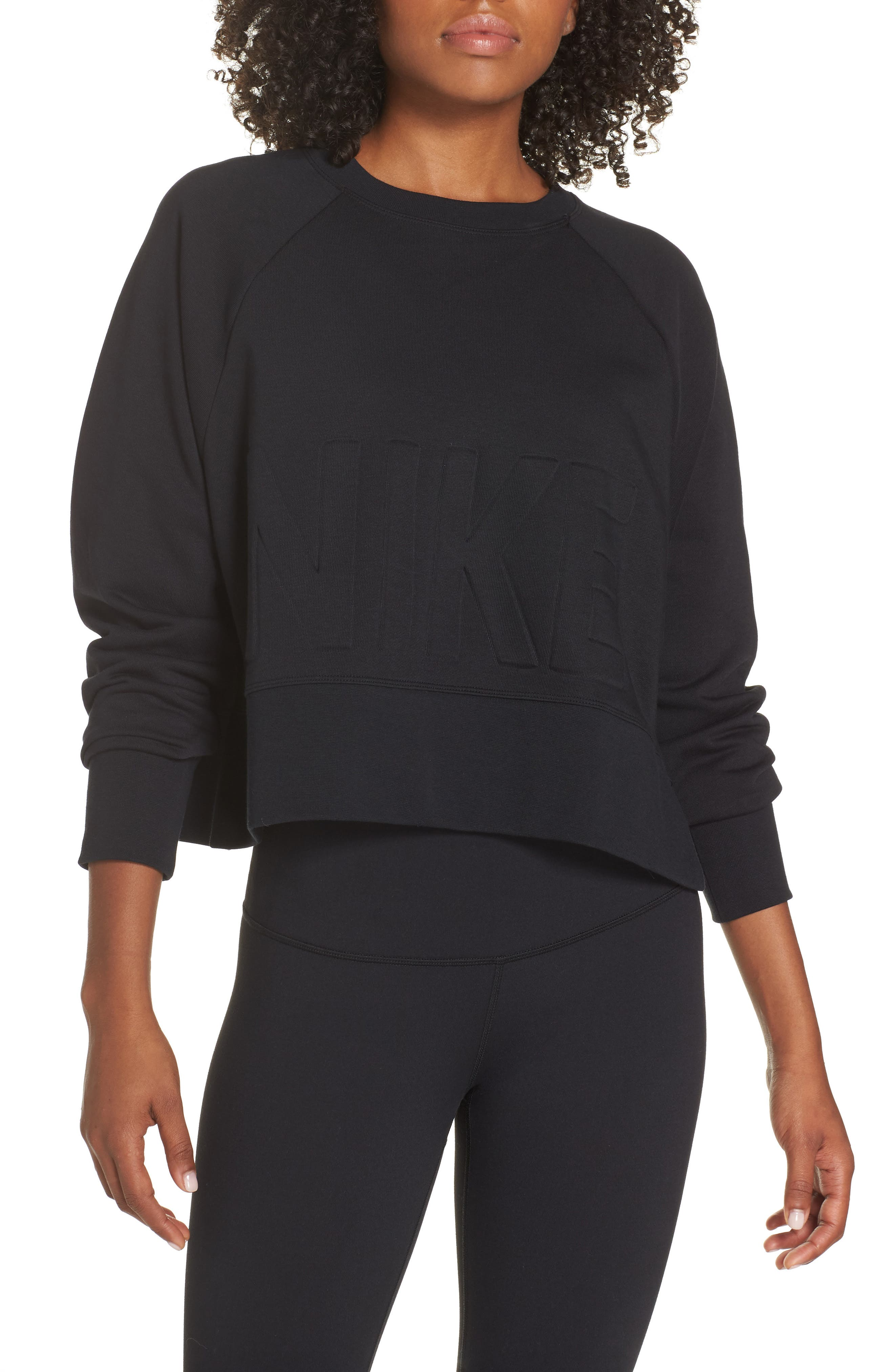 Dry Versa Training Top,                         Main,                         color, BLACK/ BLACK
