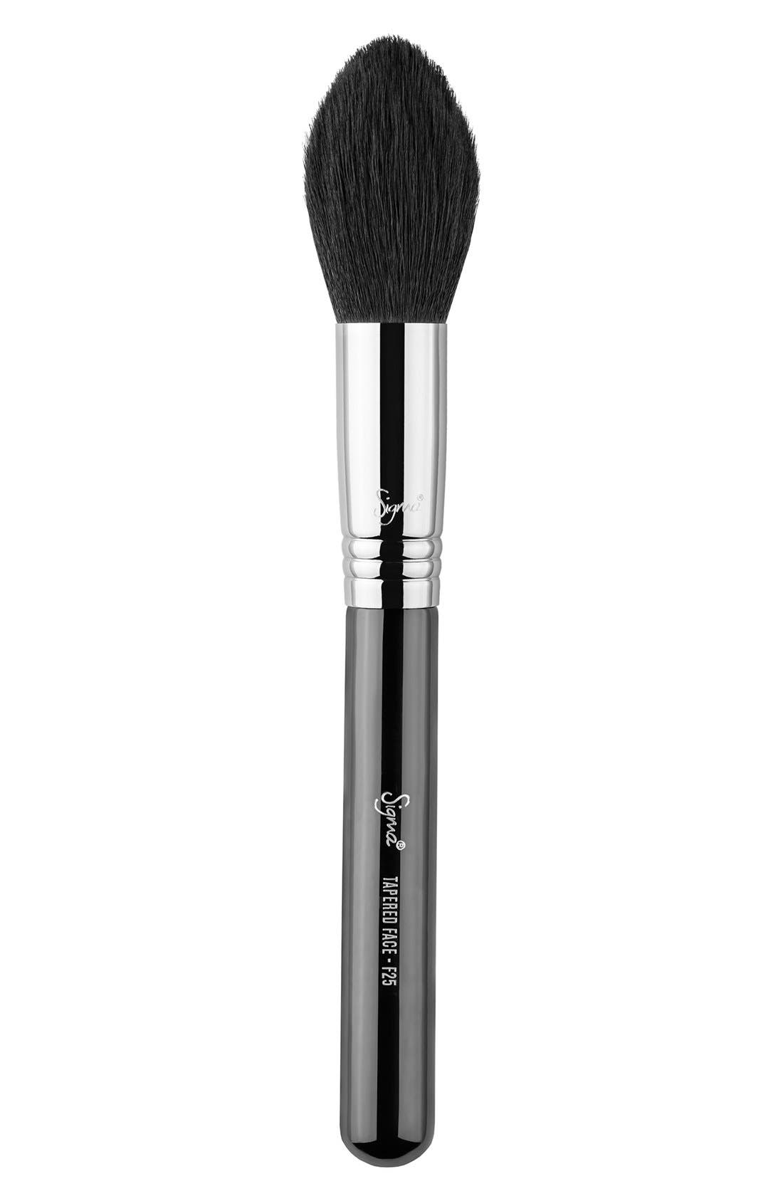 F25 Tapered Face Brush,                             Main thumbnail 1, color,                             NO COLOR