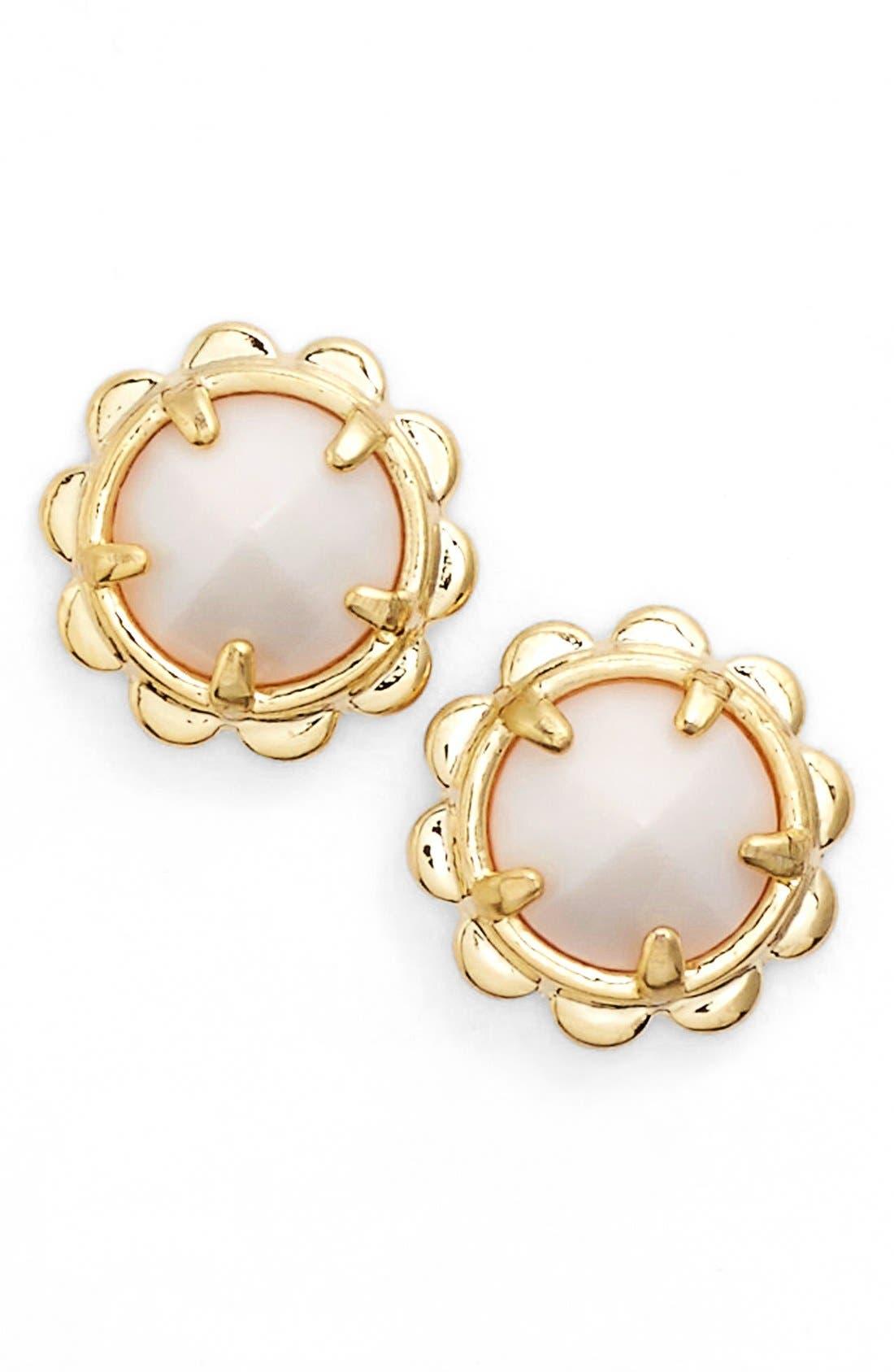 stud earrings, Main, color, 100