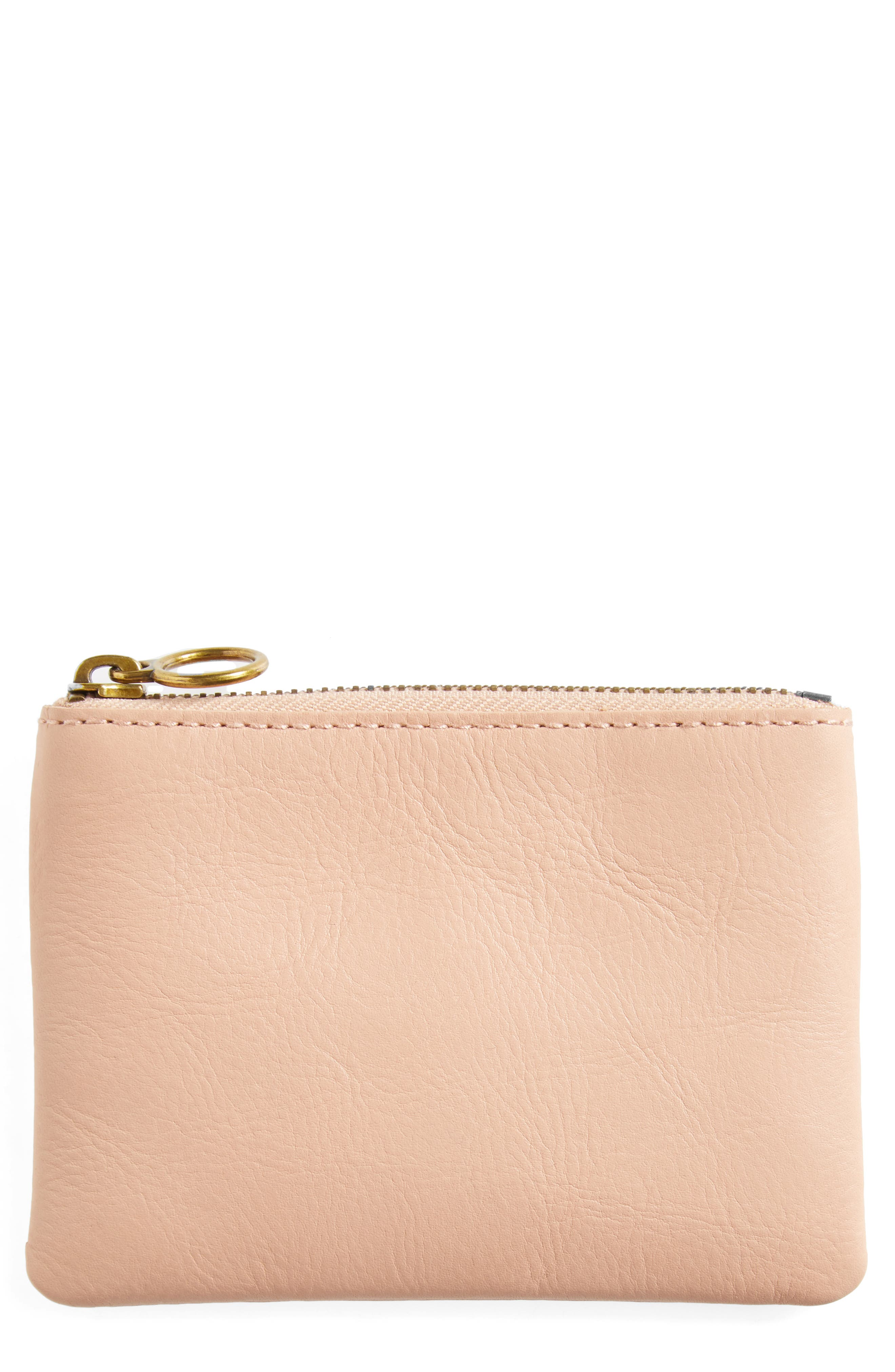 The Leather Pouch Wallet,                         Main,                         color,