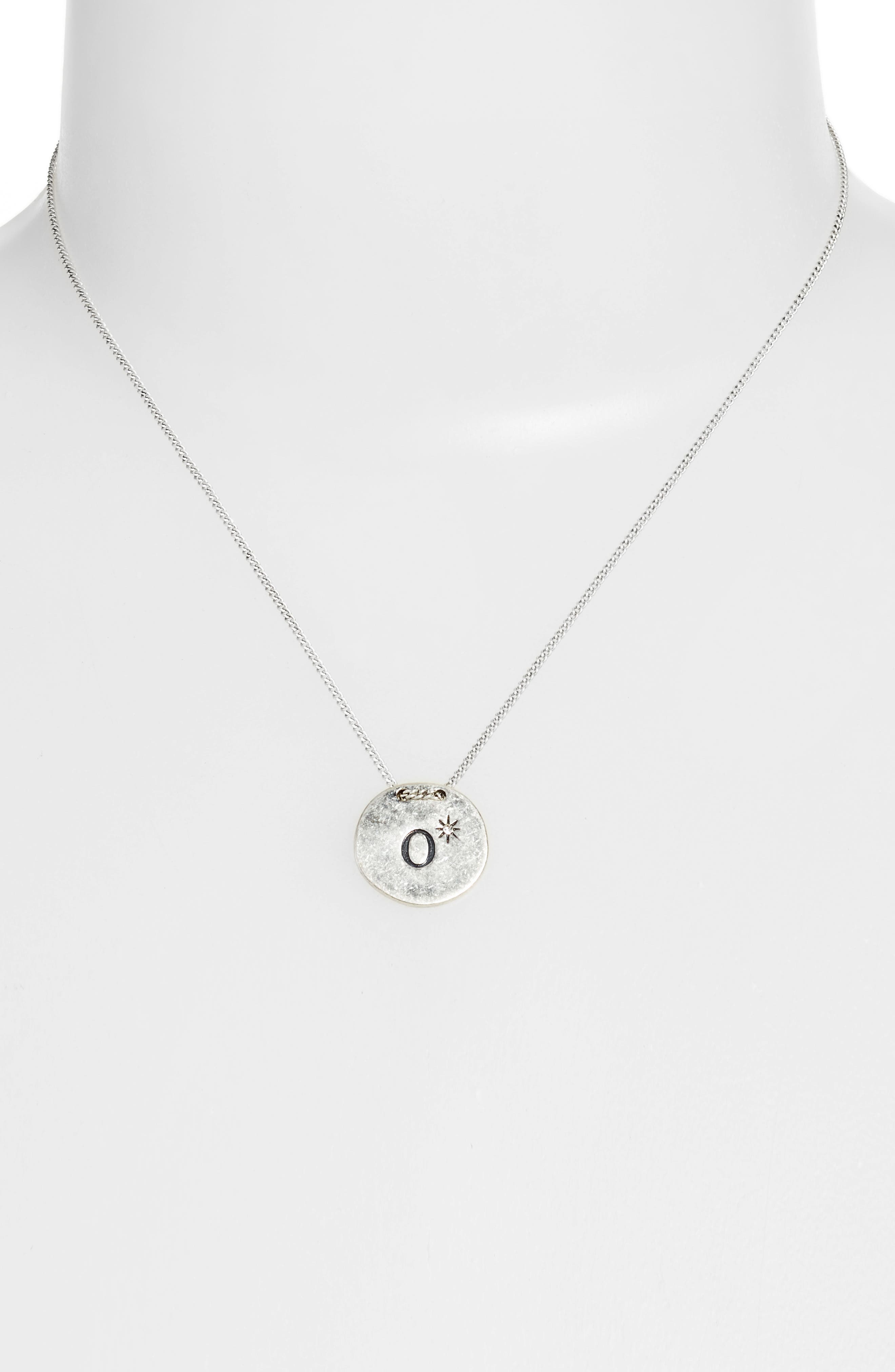 Initial Collar Necklace,                             Alternate thumbnail 54, color,