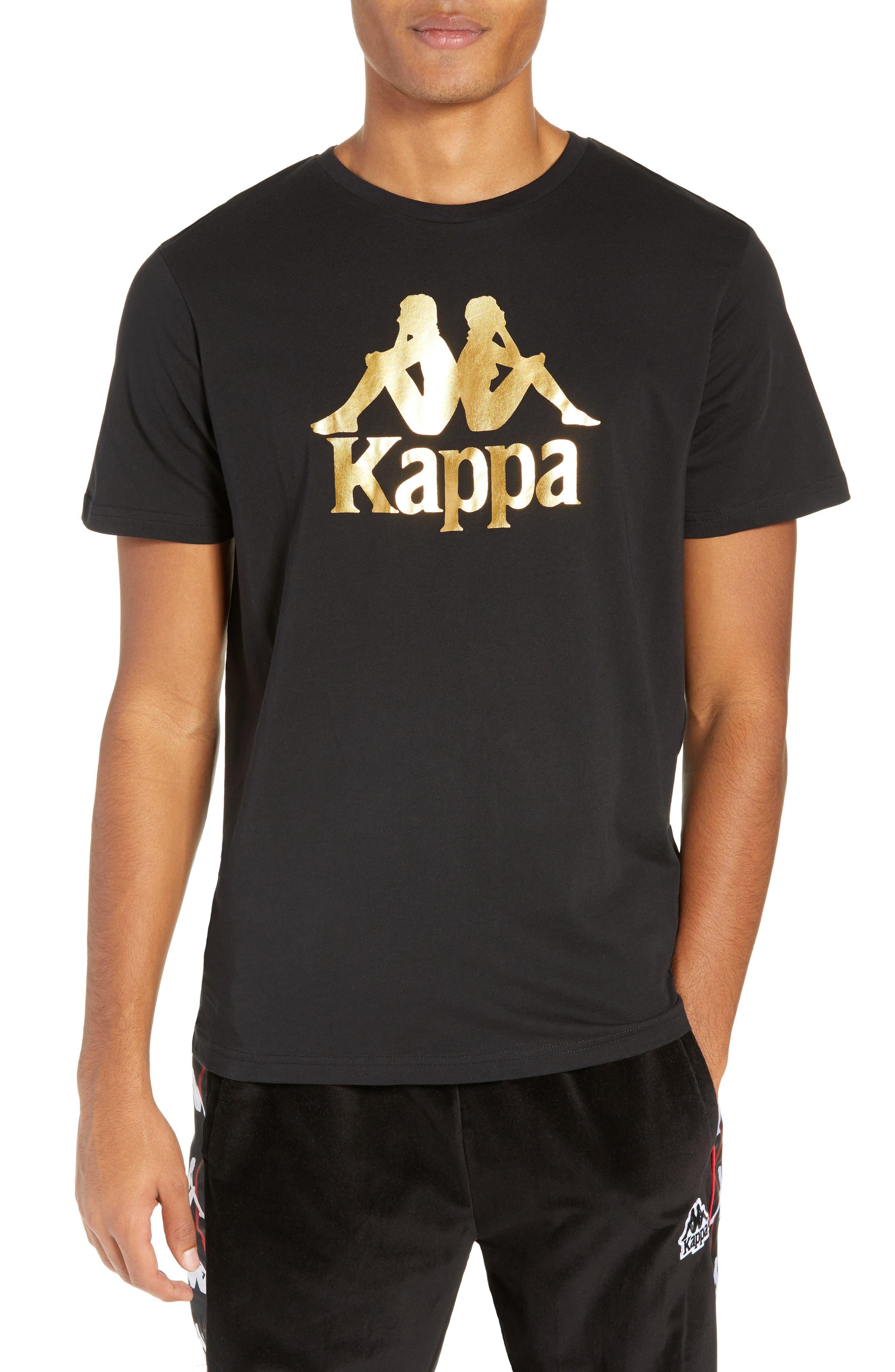 Kappa Estessi Graphic T-Shirt, Black