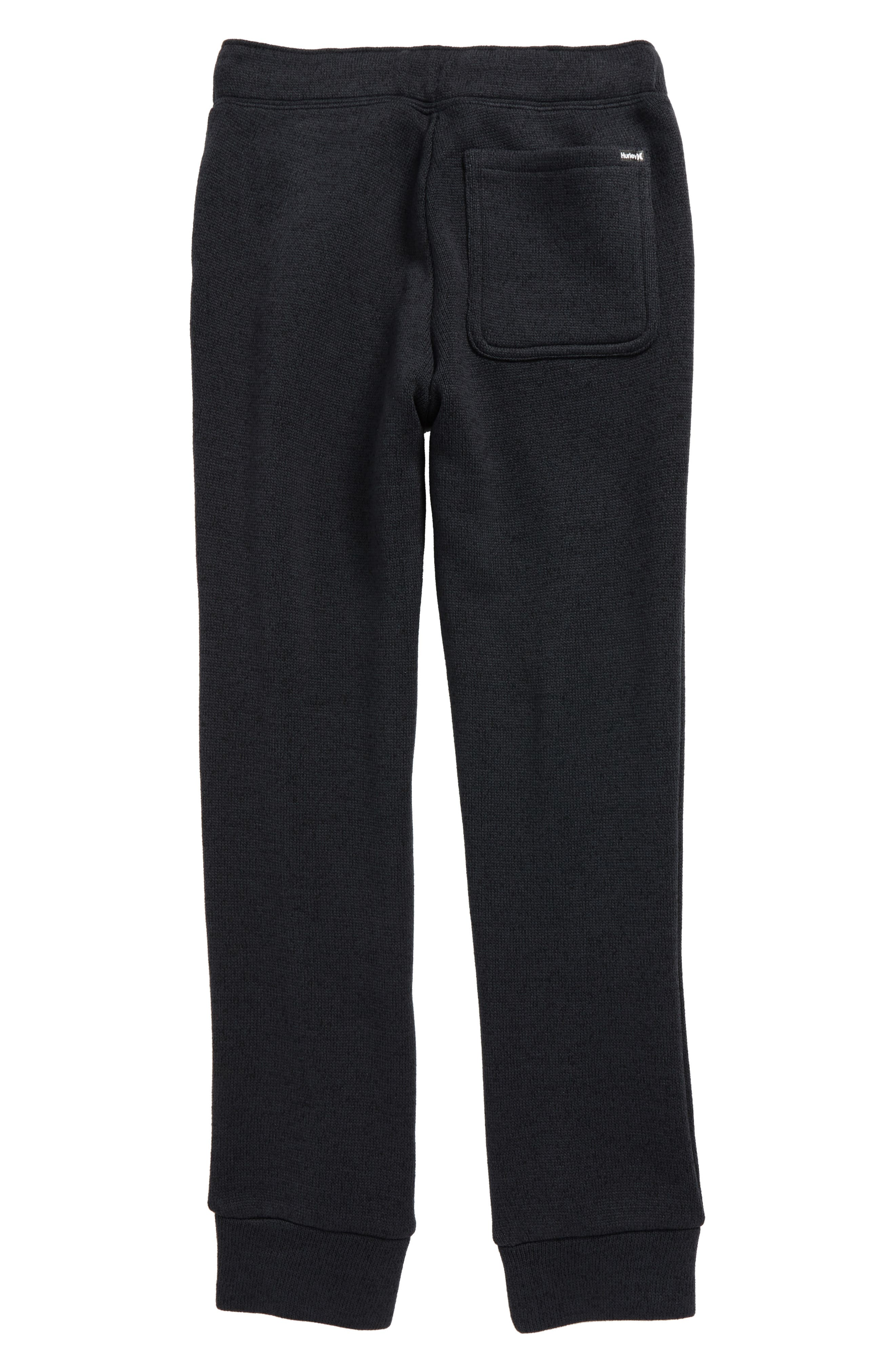 Sweater Knit Fleece Pants,                             Alternate thumbnail 3, color,