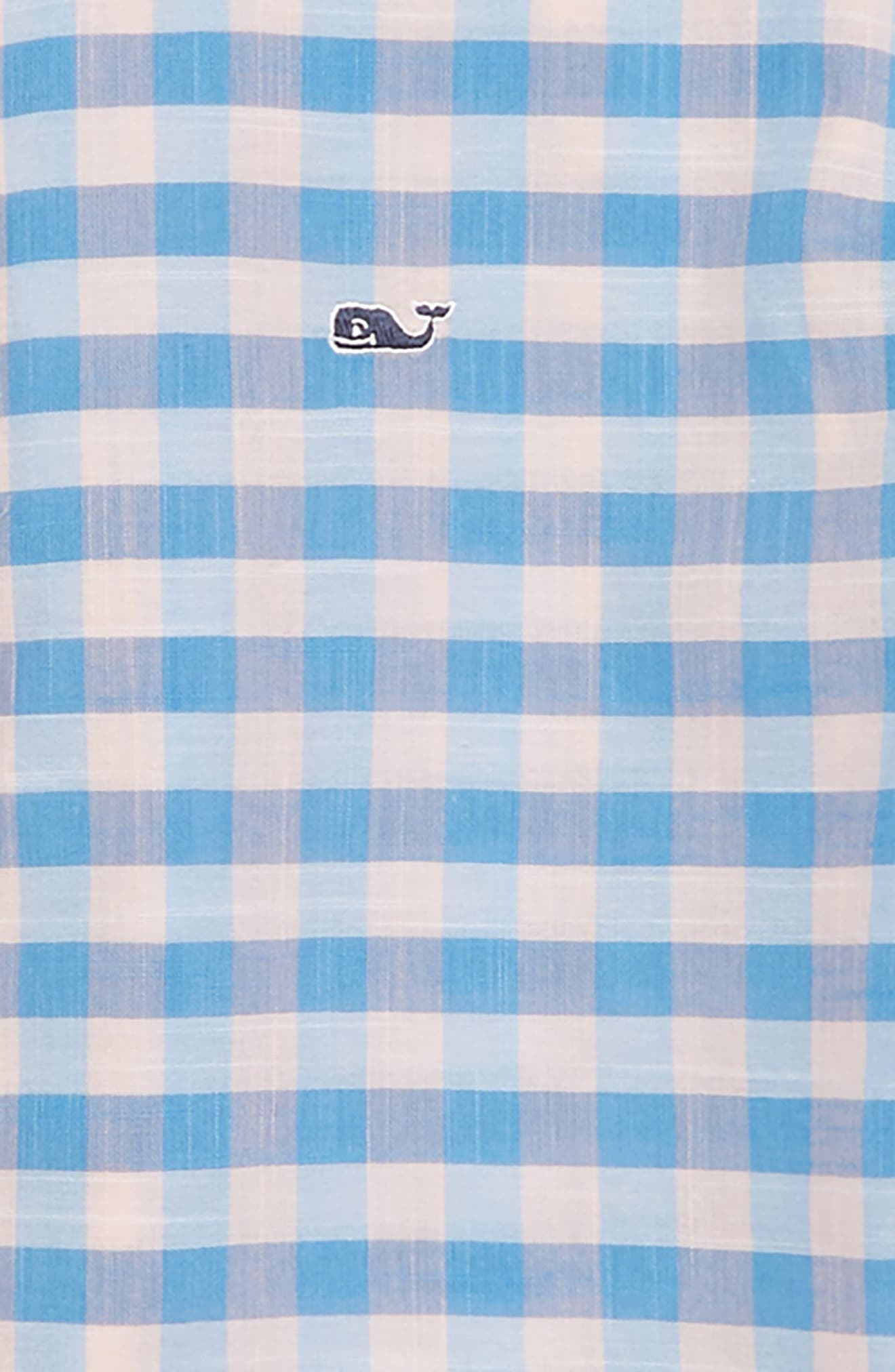 Pelican Cay Beach Check Woven Shirt,                             Alternate thumbnail 2, color,                             696