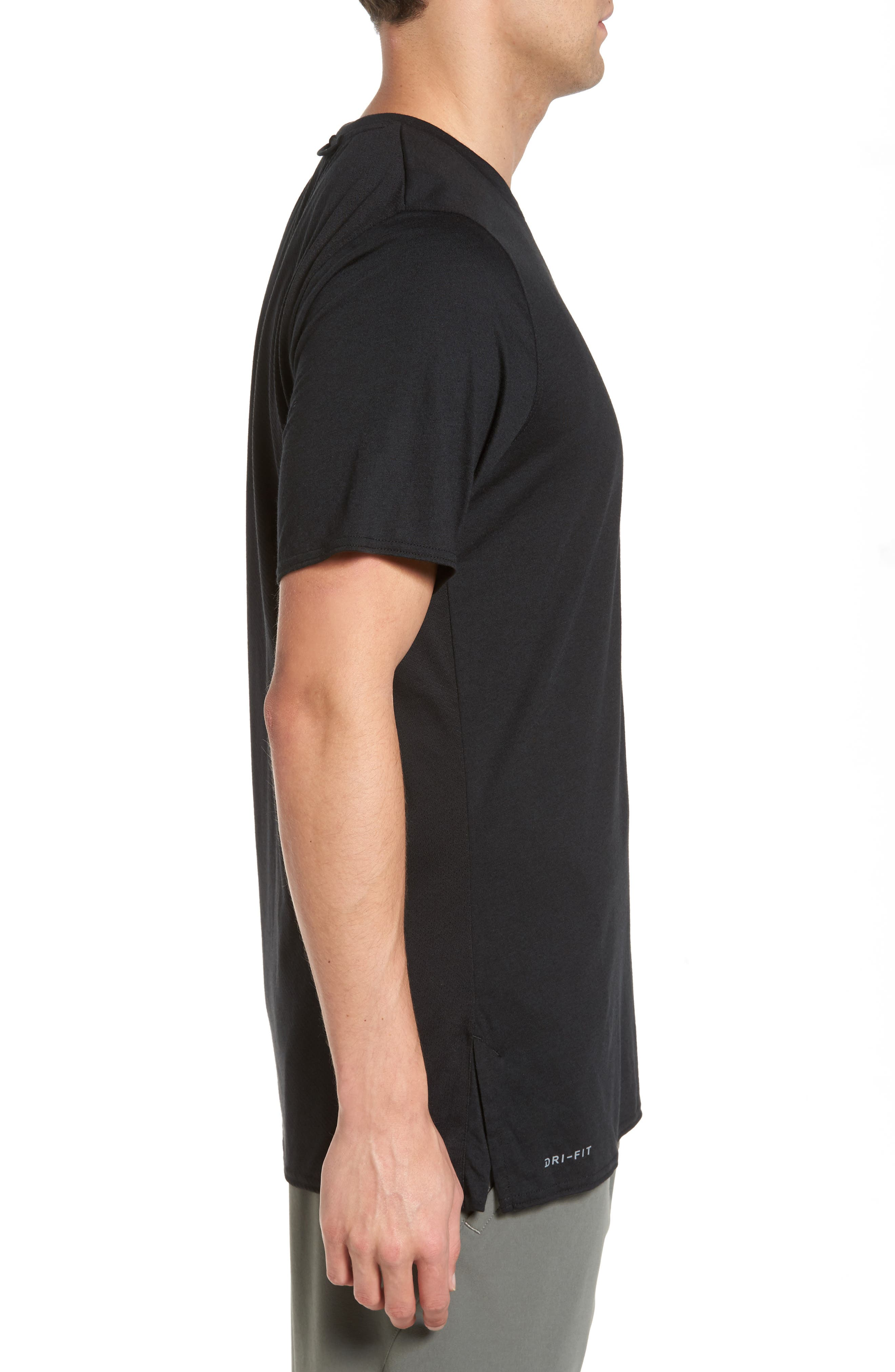 23 Alpha Dry T-Shirt,                             Alternate thumbnail 3, color,