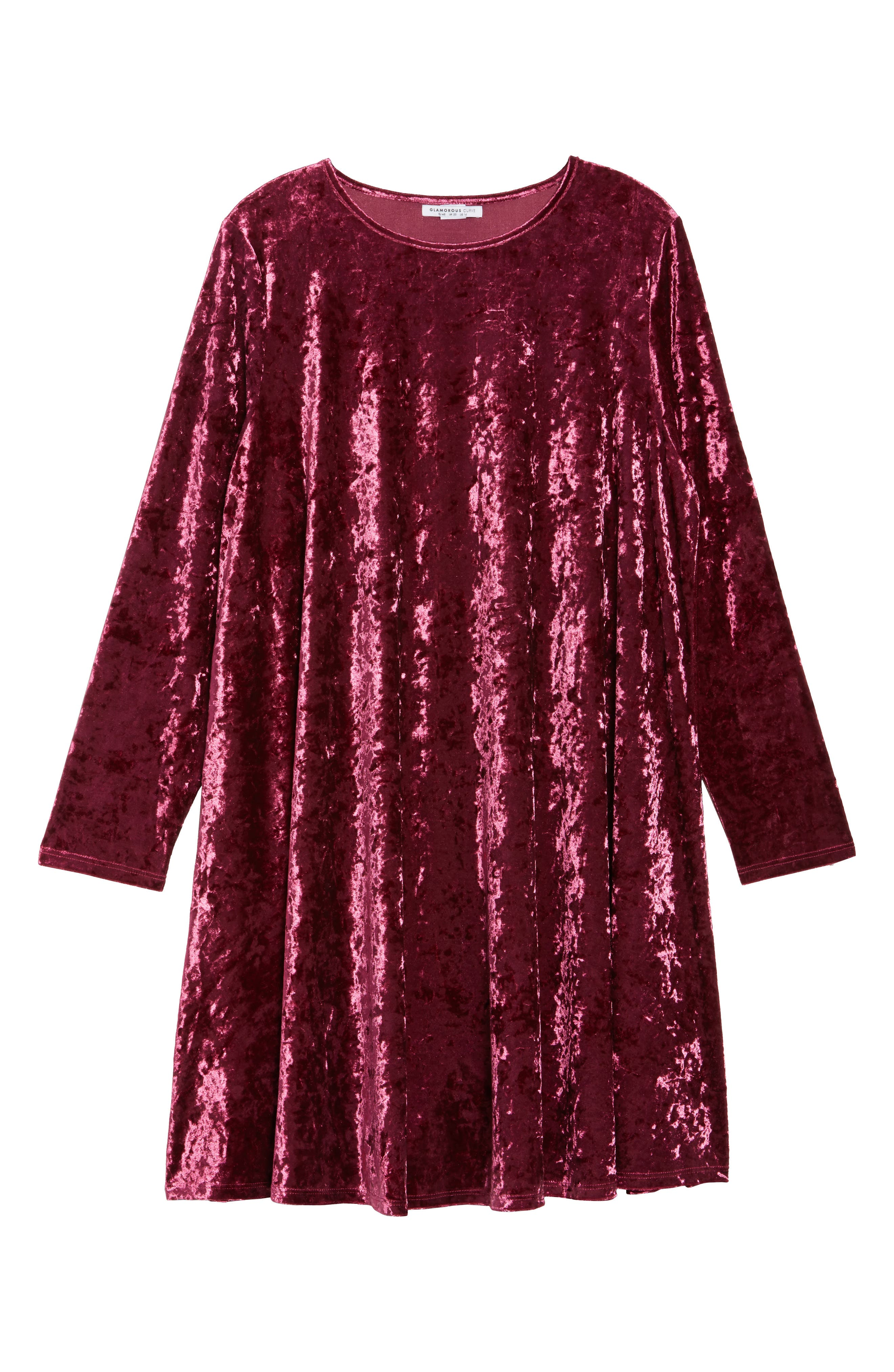 Velvet Shift Dress,                             Alternate thumbnail 12, color,