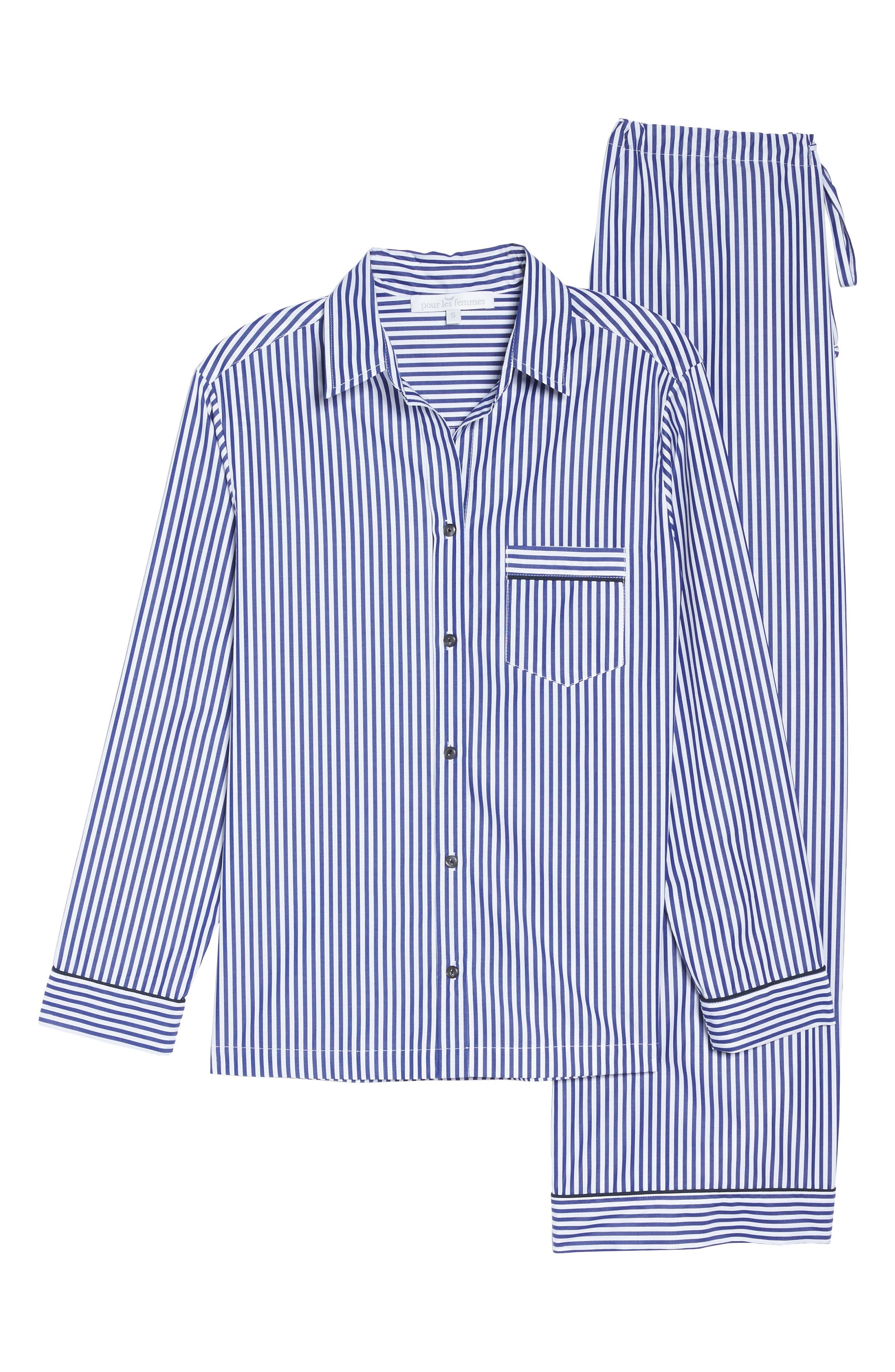 Stripe Pajamas,                             Alternate thumbnail 6, color,                             400