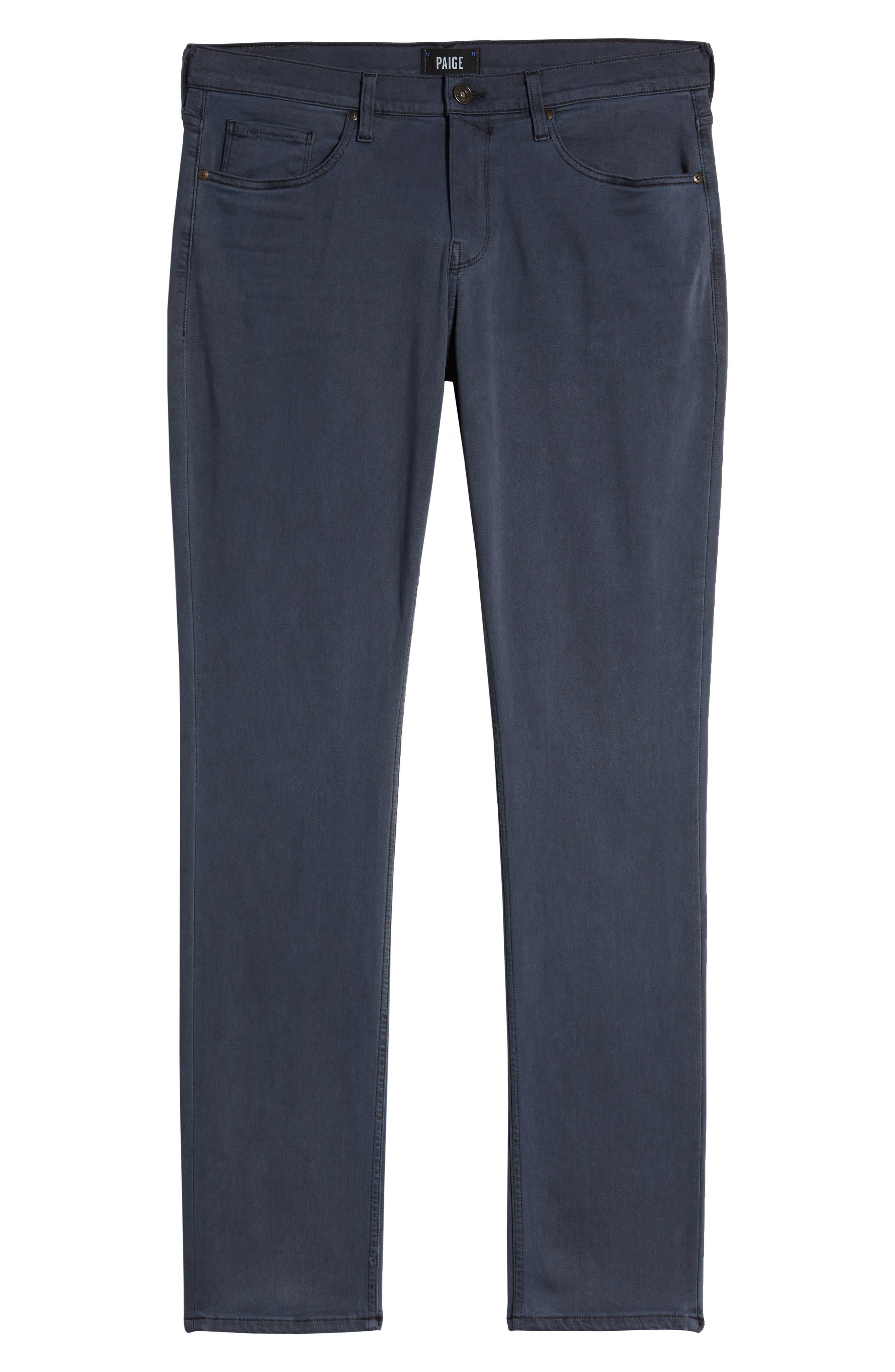 Transcend - Federal Slim Straight Leg Jeans,                             Alternate thumbnail 3, color,                             VINTAGE NAVY