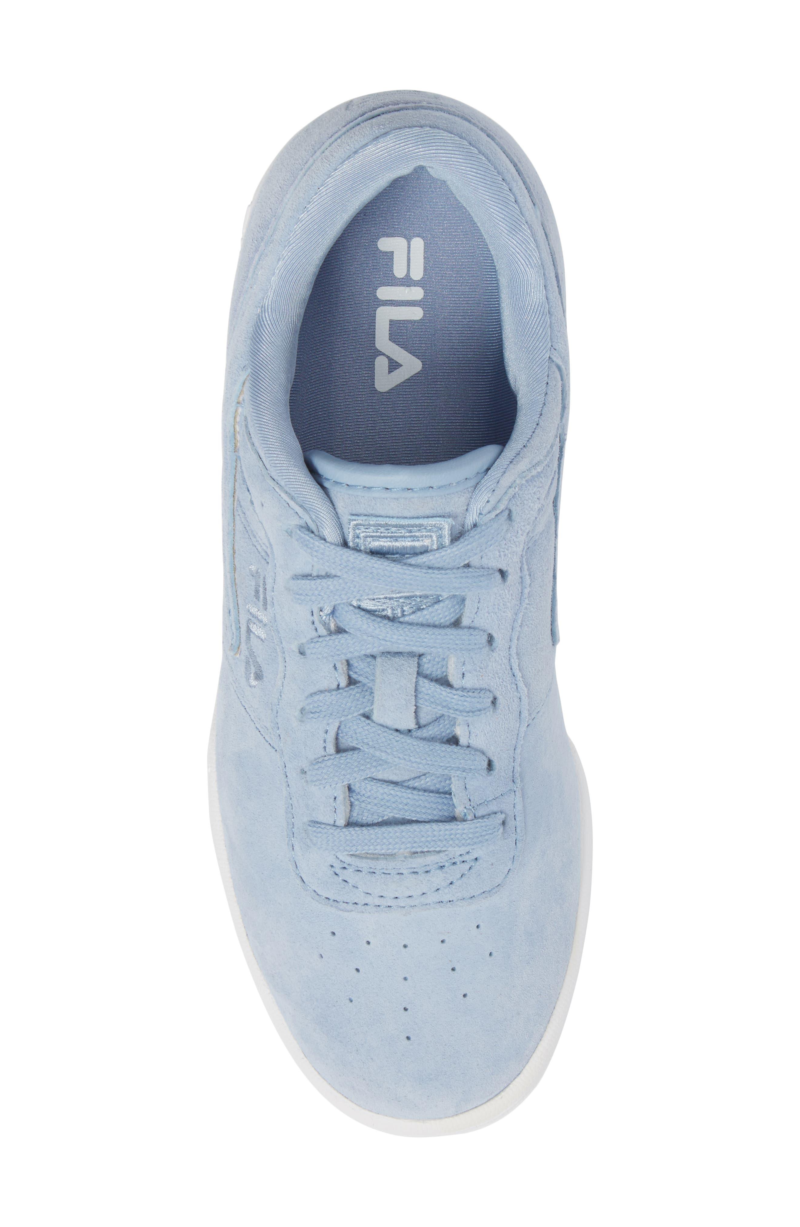 Original Fitness Premium Sneaker,                             Alternate thumbnail 5, color,                             BLUE/ WHITE