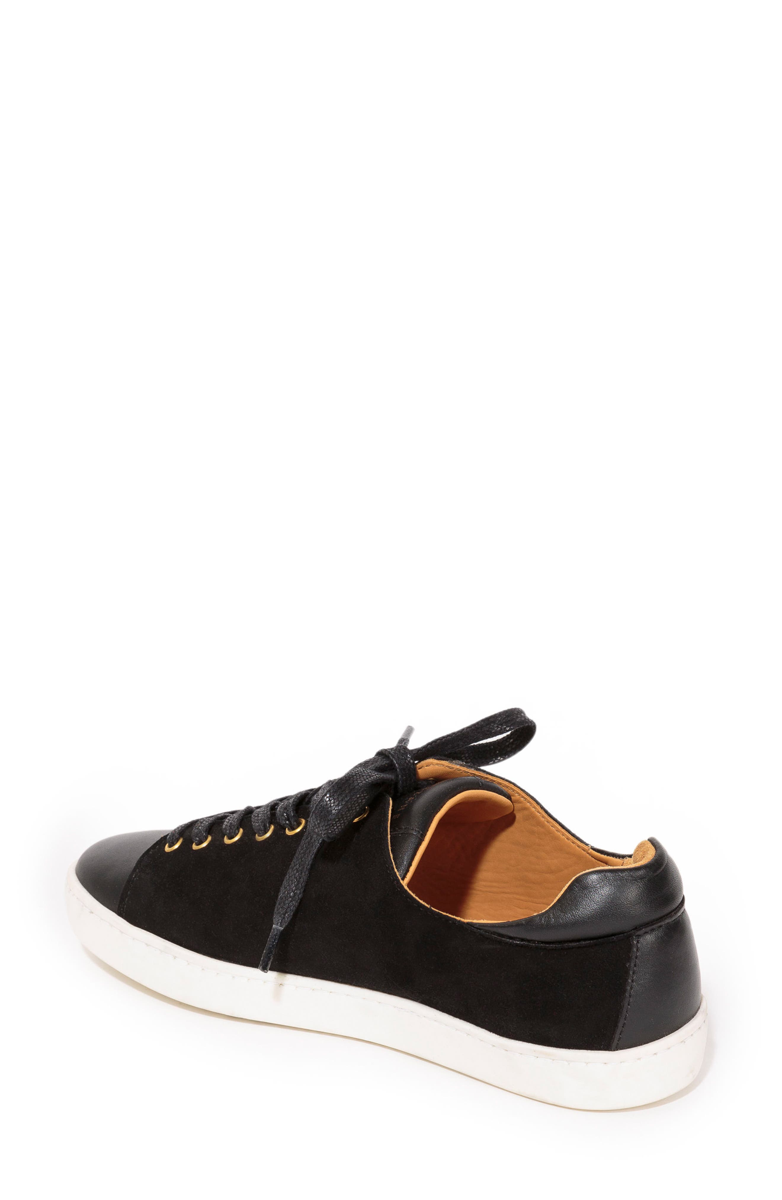 Jack Sneaker,                             Alternate thumbnail 2, color,                             BLACK SUEDE