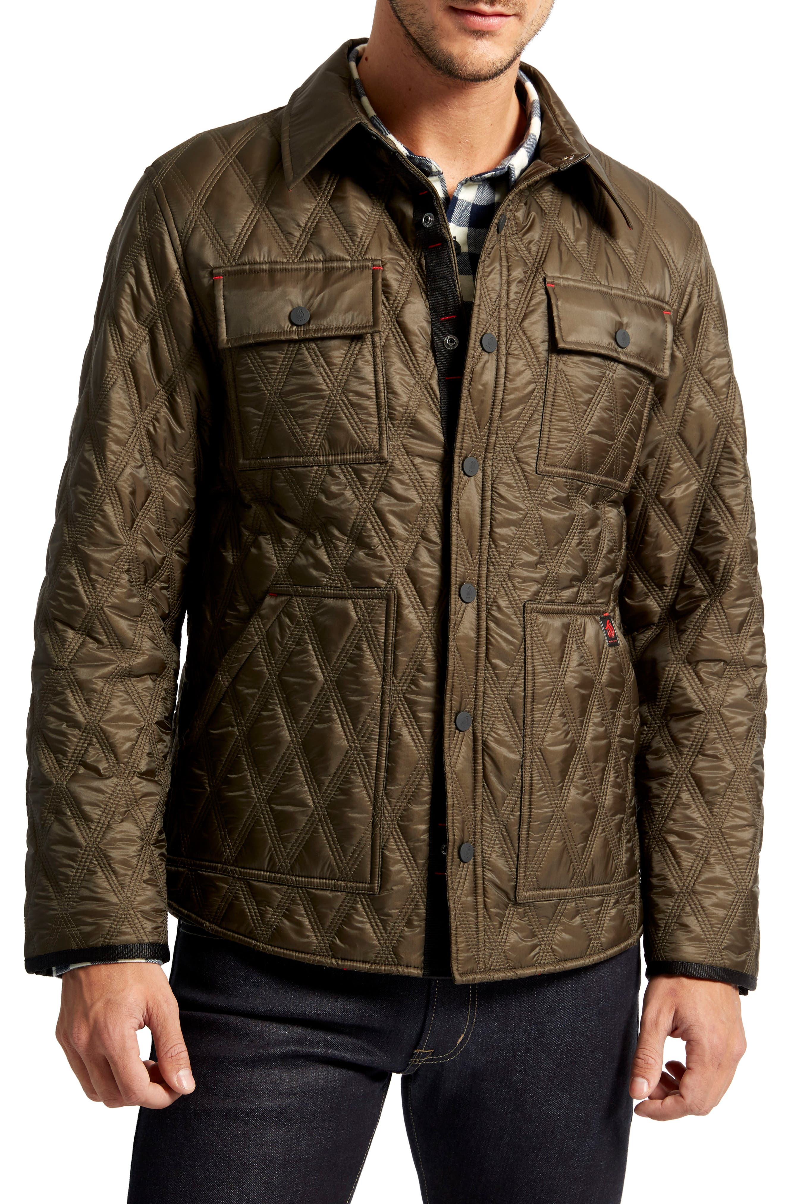 Searcy Heat System Triple Stitch Quilted Jacket,                         Main,                         color, 339