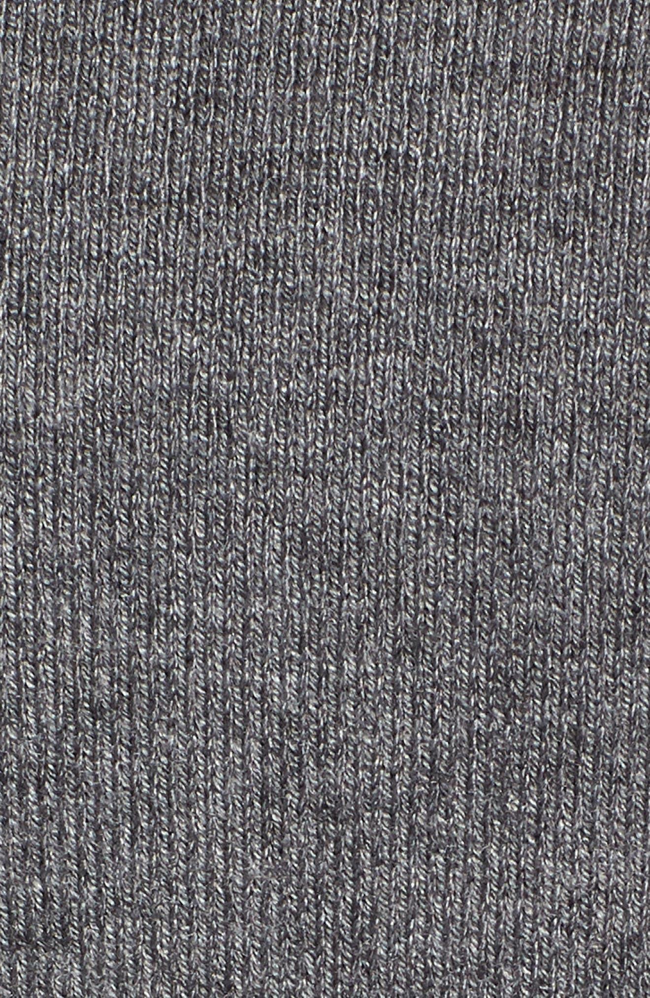 Sporty Stripe Sweater,                             Alternate thumbnail 6, color,                             021