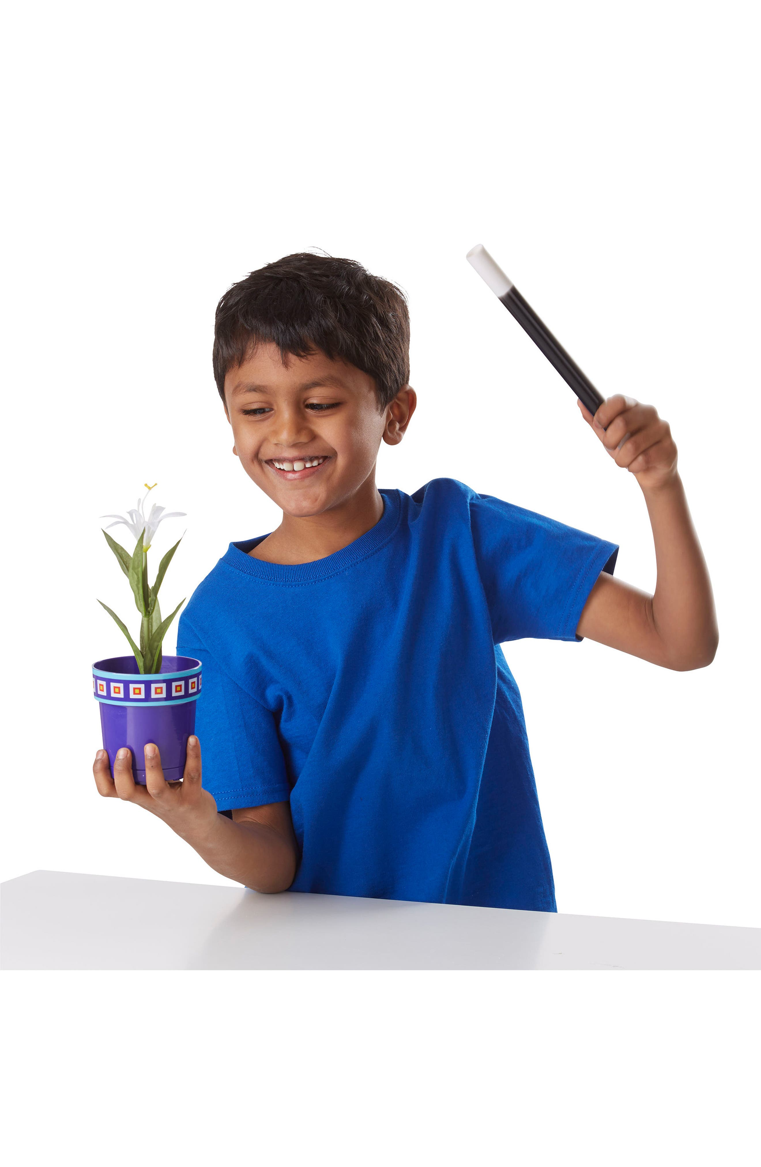 Magic in a Snap Magic Flower Pot & Wand Toy,                             Alternate thumbnail 3, color,                             001