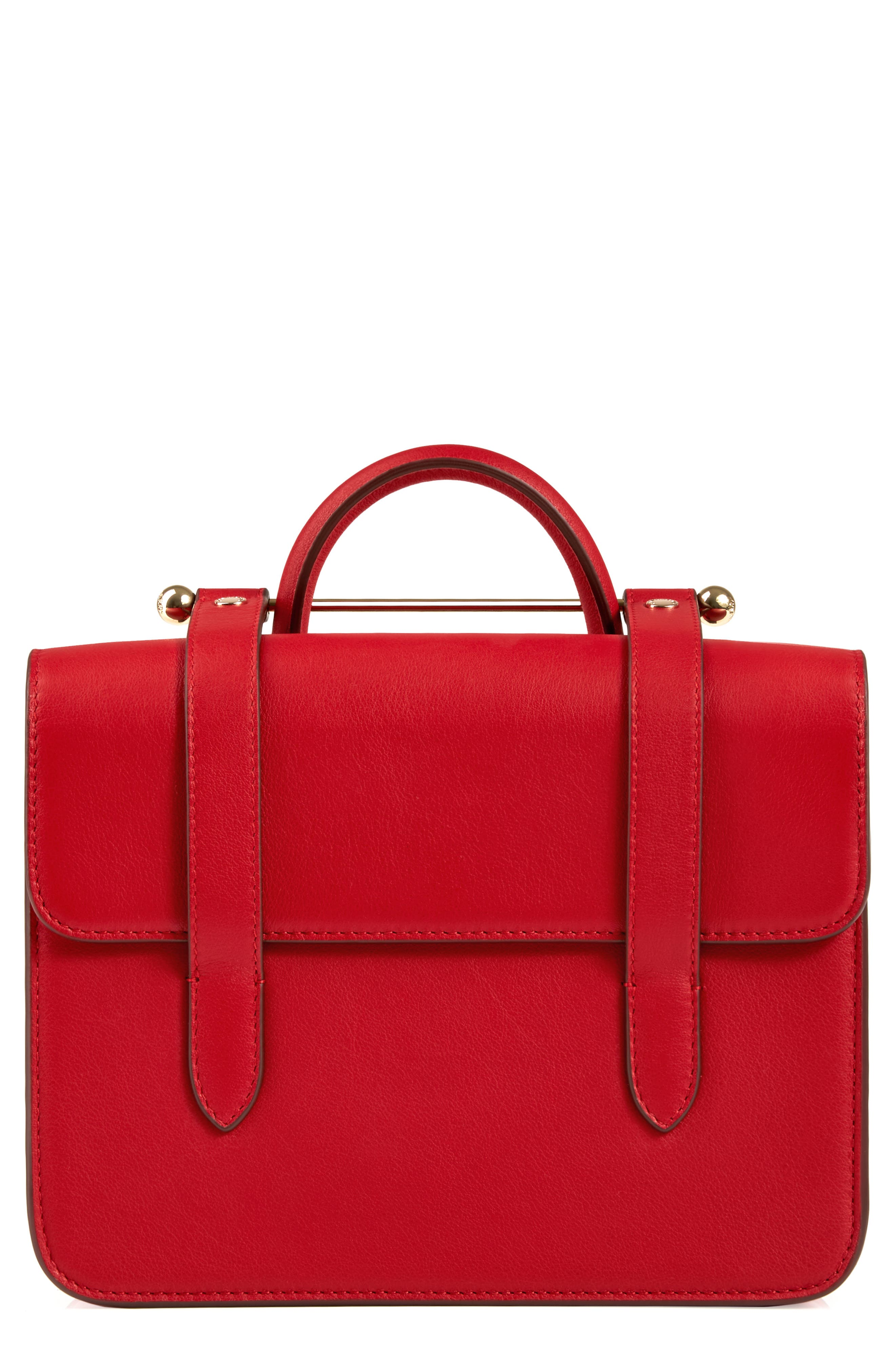 MC Mini Leather Crossbody Bag,                             Main thumbnail 2, color,