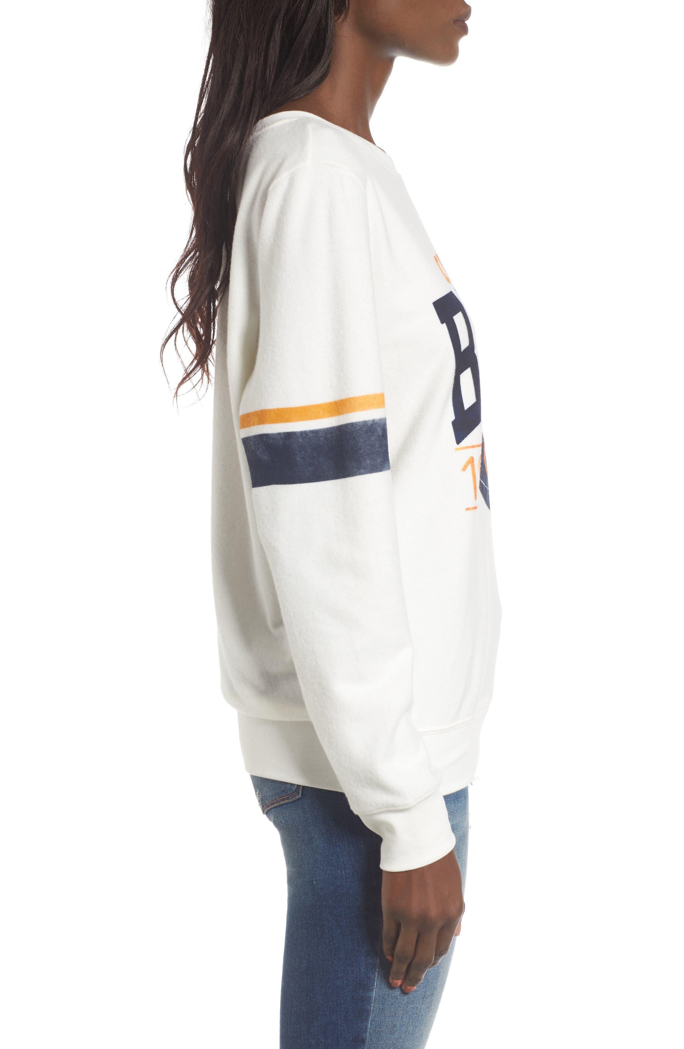 Chicago Bears Throwback Sweatshirt,                             Alternate thumbnail 3, color,                             100