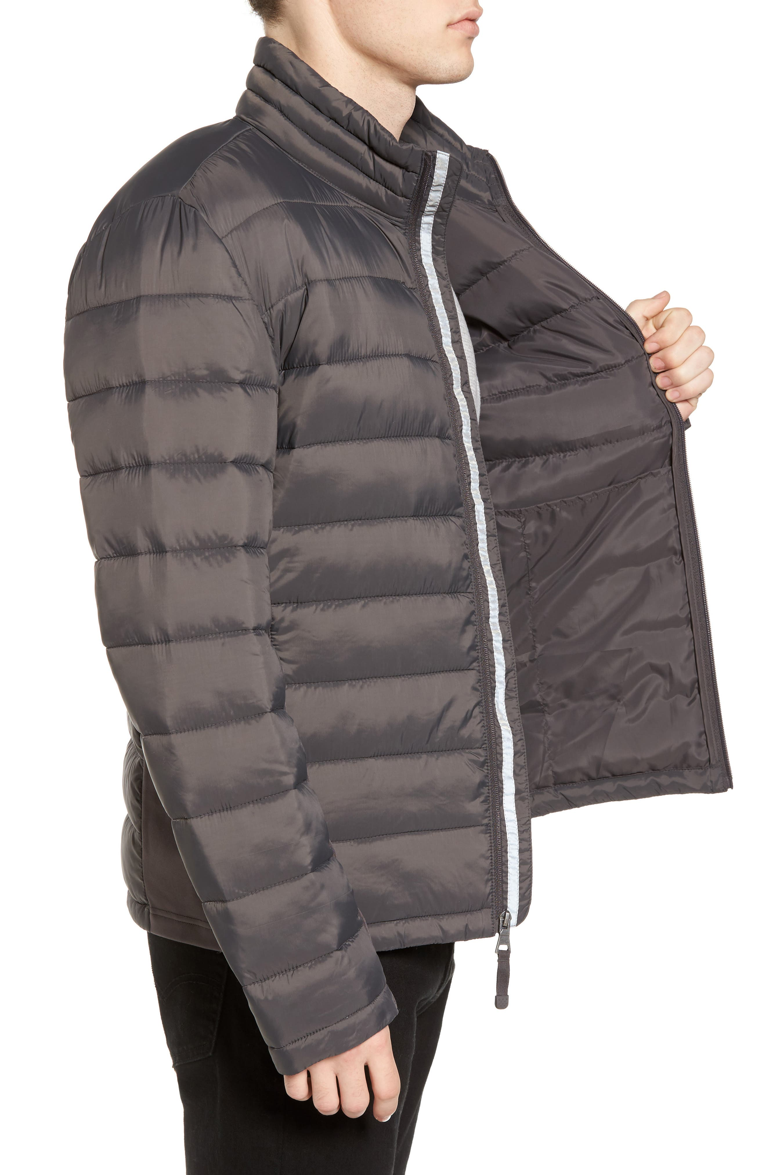 Water Resistant Packable Puffer Jacket,                             Alternate thumbnail 10, color,