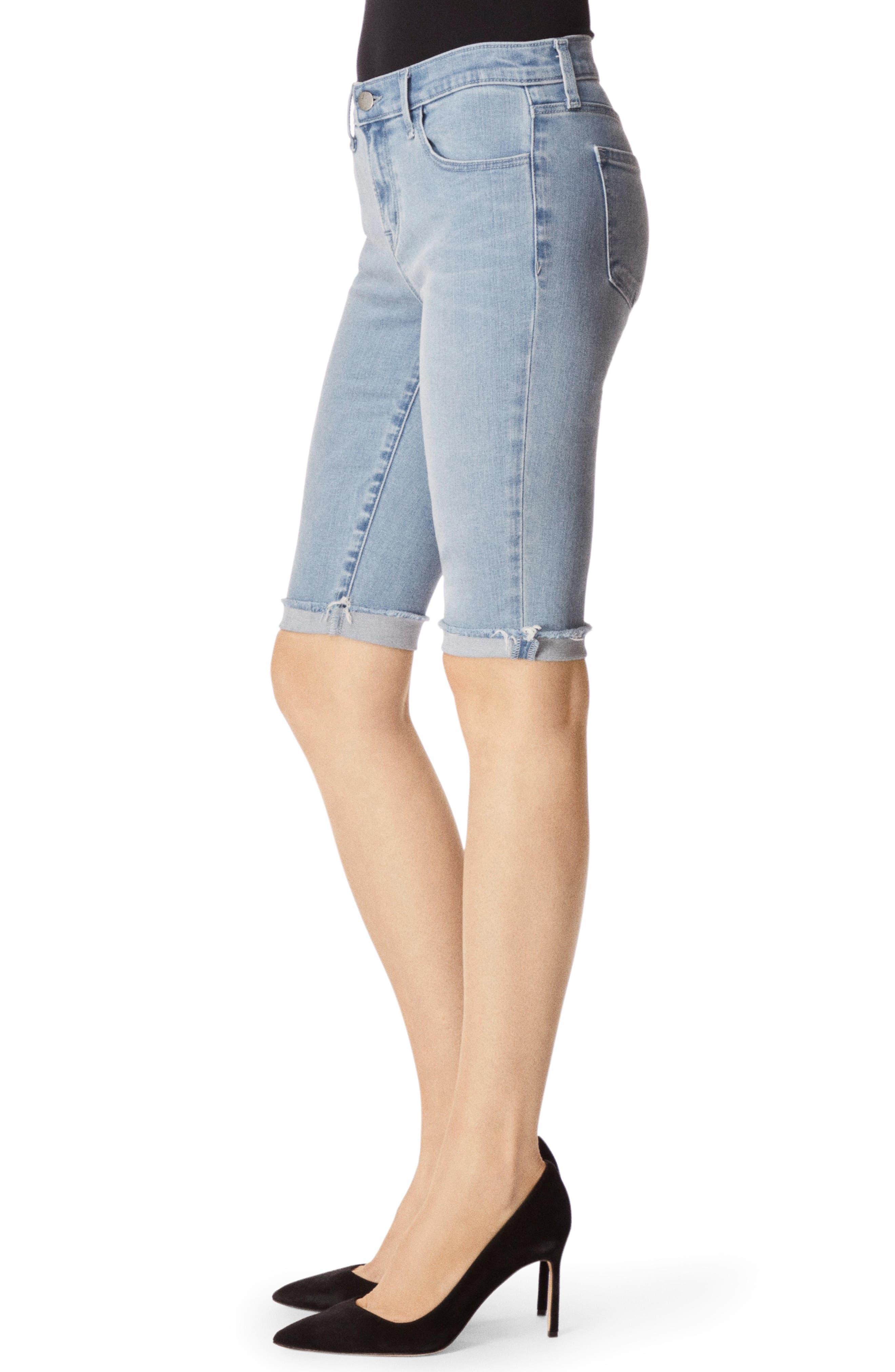 811 Skinny Bermuda Shorts,                             Alternate thumbnail 3, color,                             VERITY