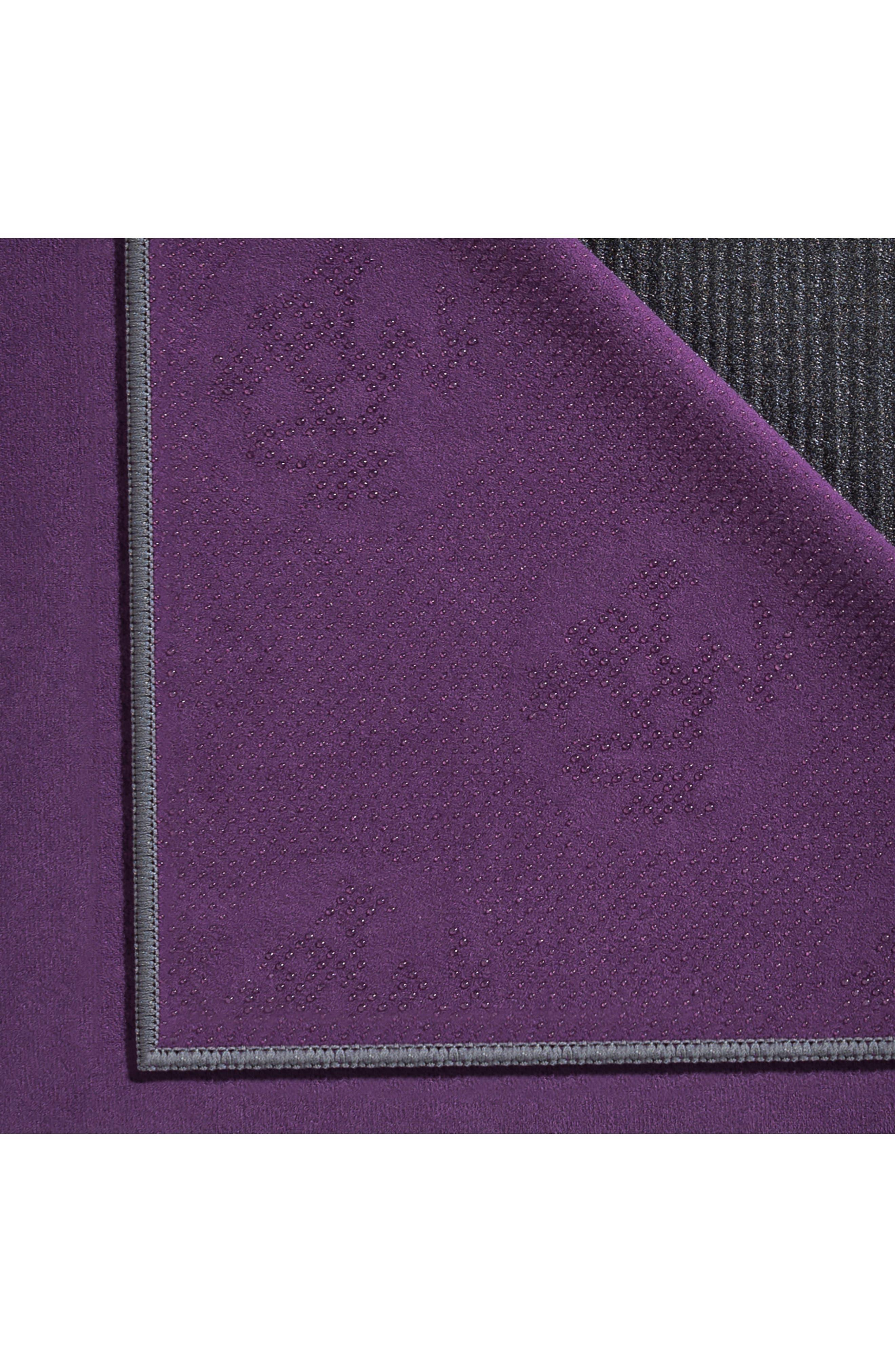 'eQua Hold' Yoga Mat Towel,                             Alternate thumbnail 4, color,