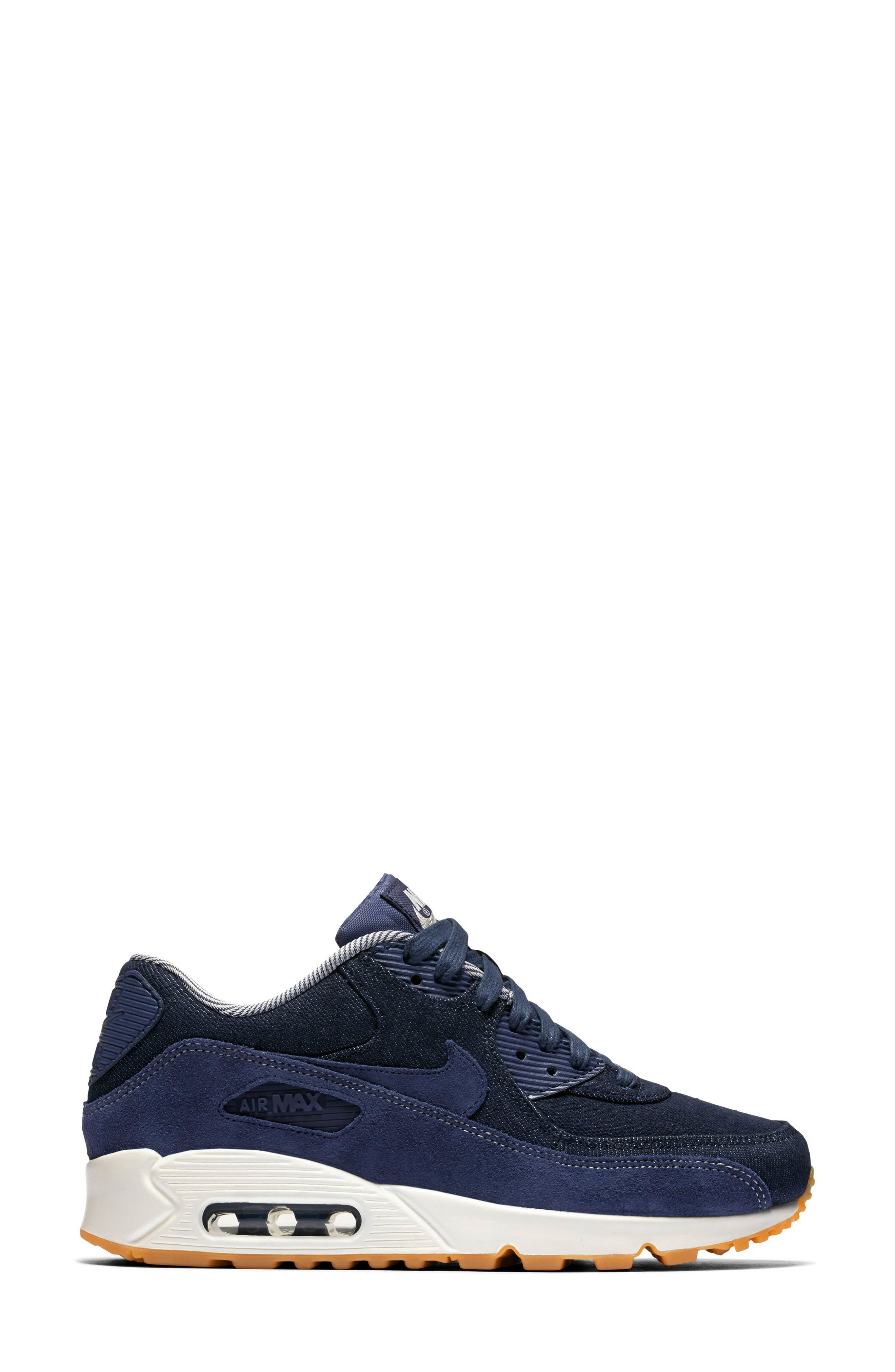 Air Max 90 SE Sneaker,                             Alternate thumbnail 25, color,