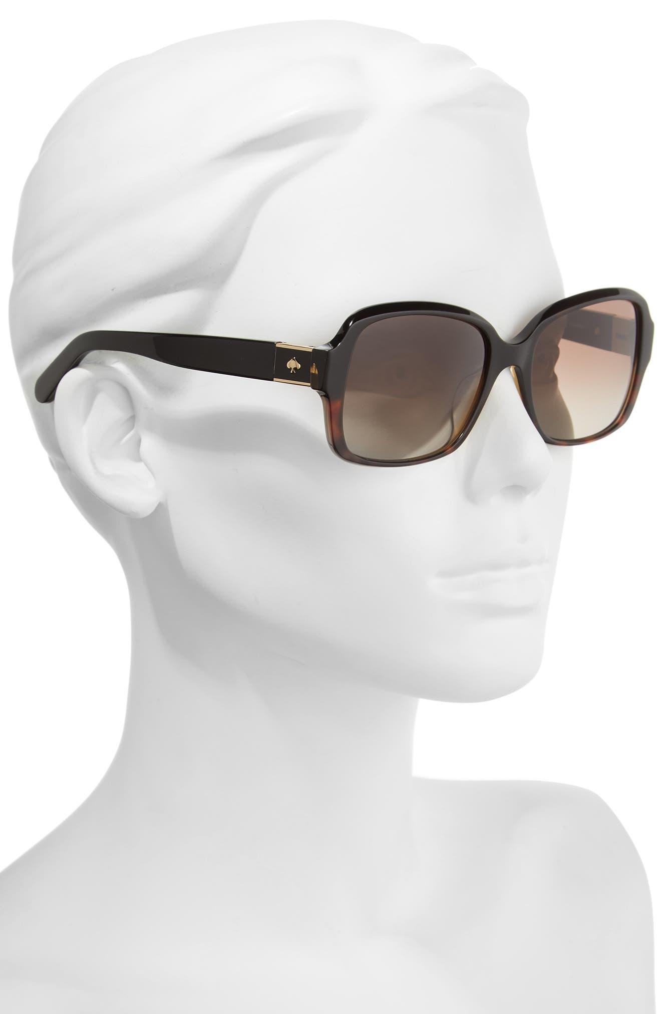 annor 54mm polarized sunglasses,                             Alternate thumbnail 9, color,