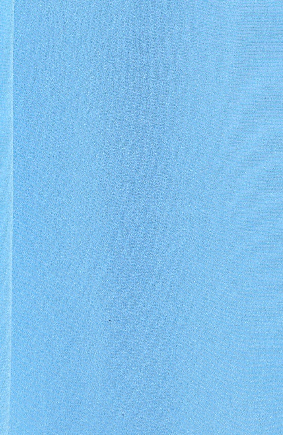 'Slim Signature' Sleeveless Silk Shirt,                             Alternate thumbnail 75, color,