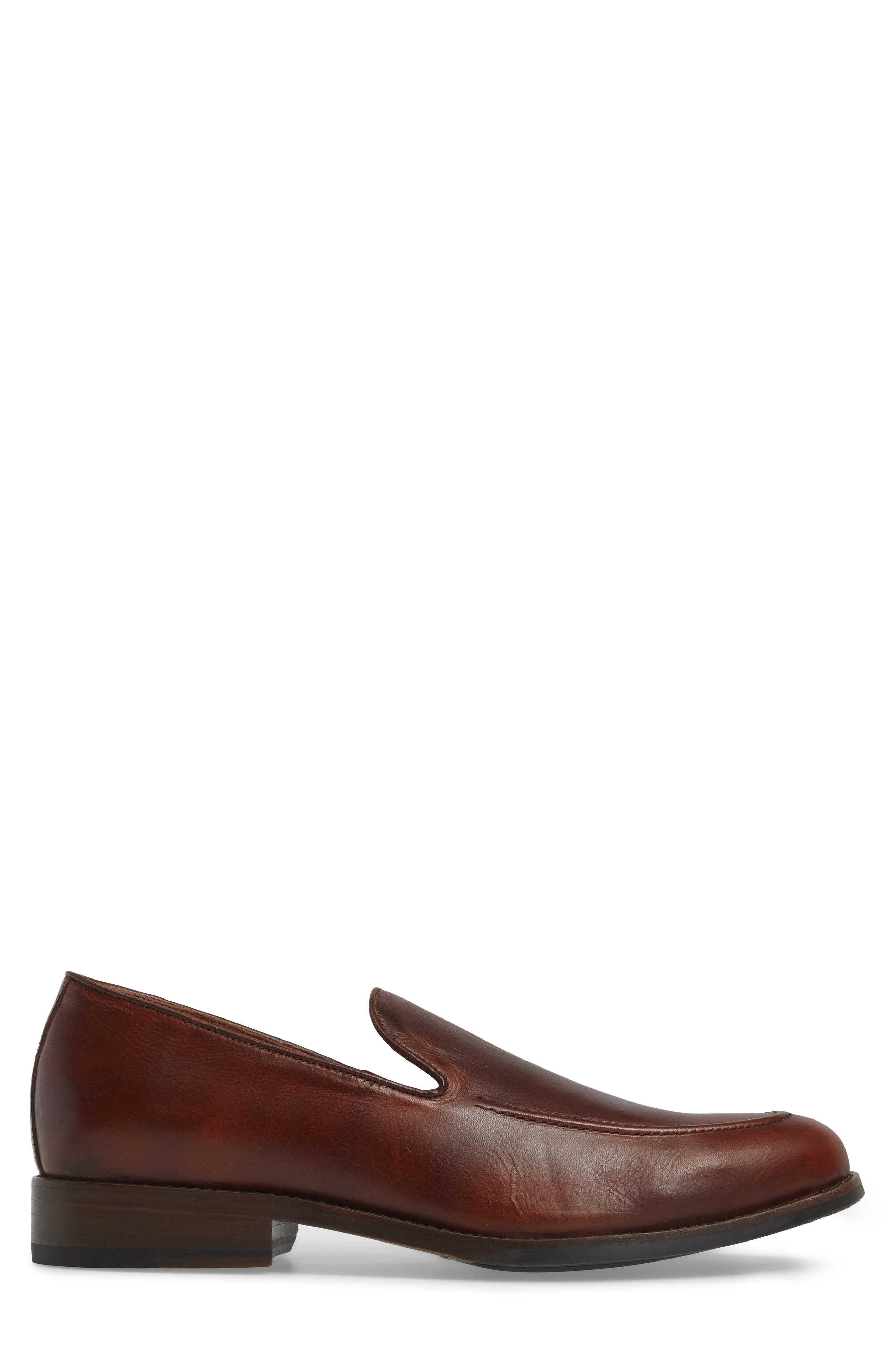 Jefferson Venetian Loafer,                             Alternate thumbnail 3, color,                             BROWN