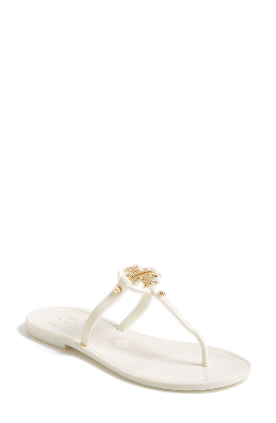 'Mini Miller' Flat Sandal,                             Main thumbnail 1, color,                             900