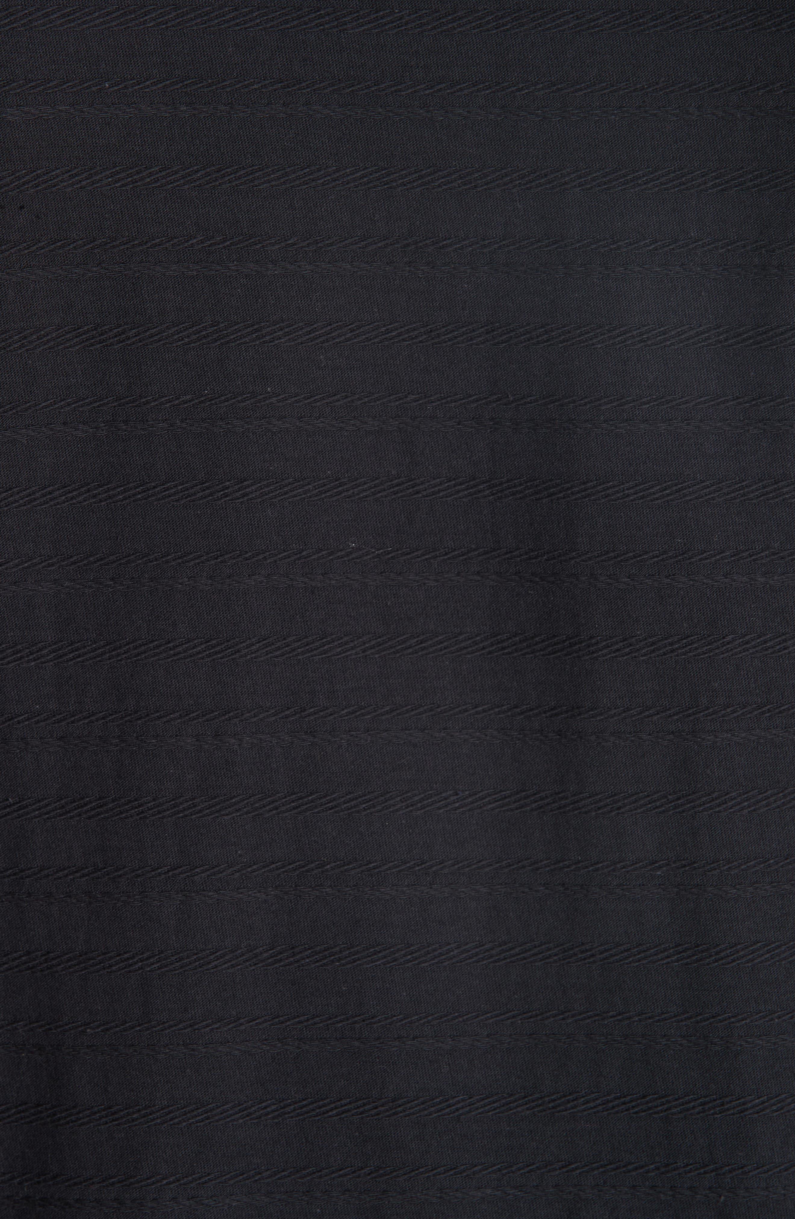 Jacquard Stripe Long Sleeve T-Shirt,                             Alternate thumbnail 5, color,                             062
