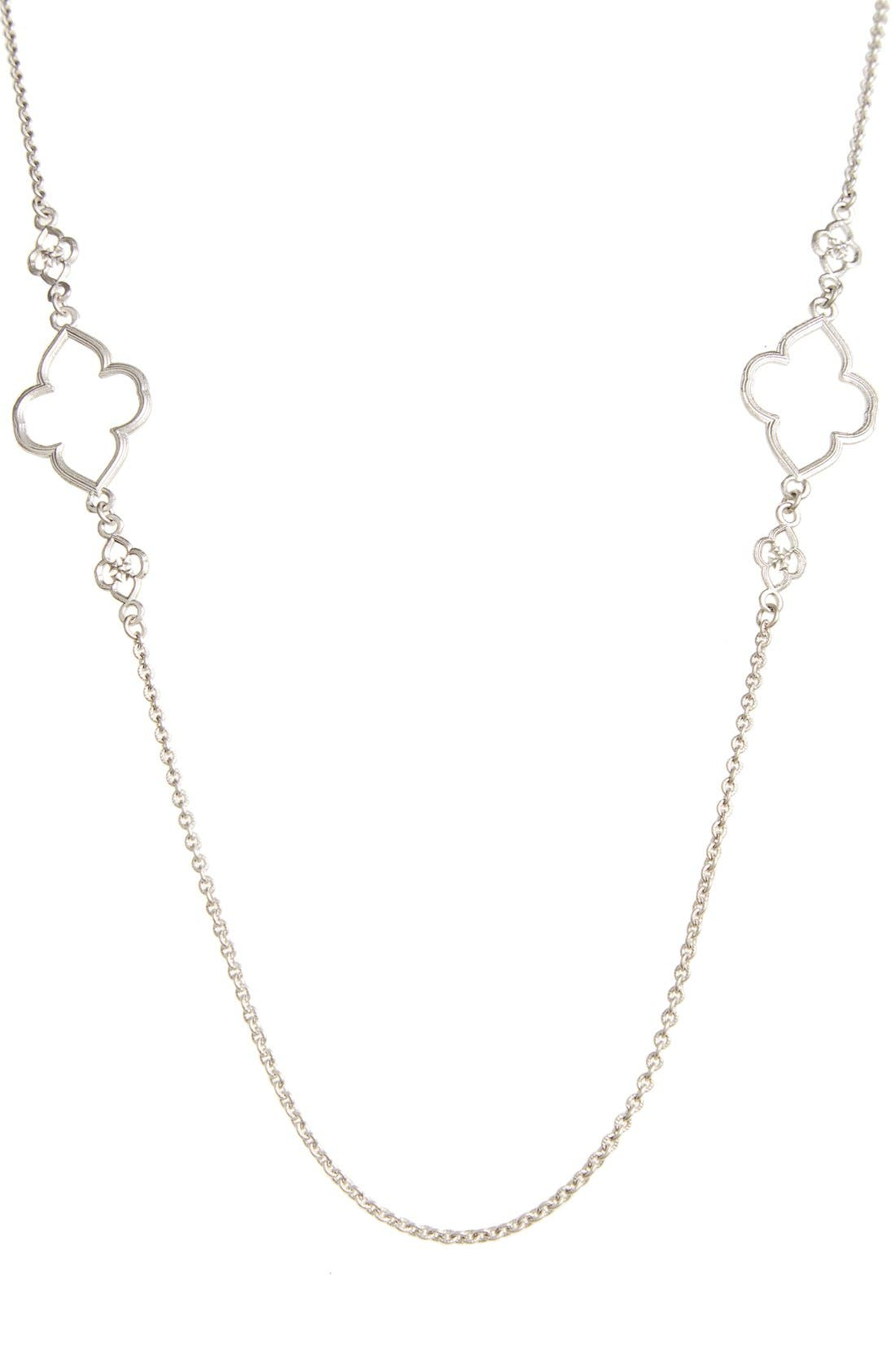 ARMENTA,                             Station Necklace,                             Alternate thumbnail 2, color,                             SILVER