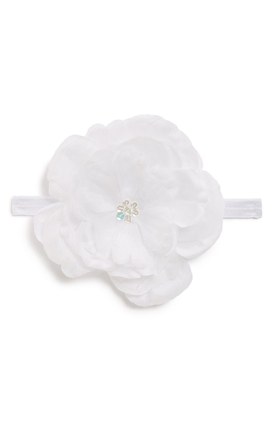 Flower Headband,                             Main thumbnail 1, color,
