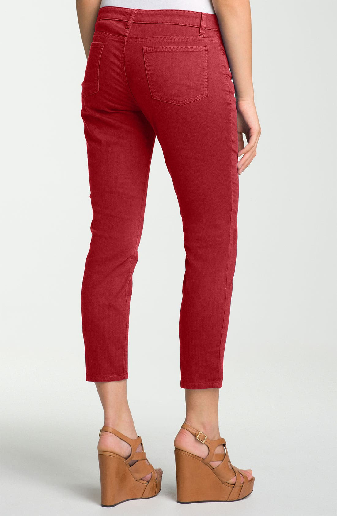 Skinny Ankle Jeans,                             Alternate thumbnail 26, color,