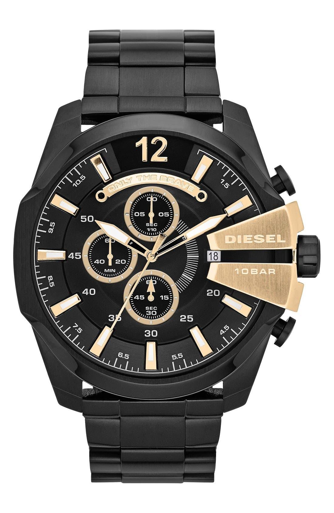 'Mega Chief' Bracelet Watch, 51mm,                             Main thumbnail 4, color,