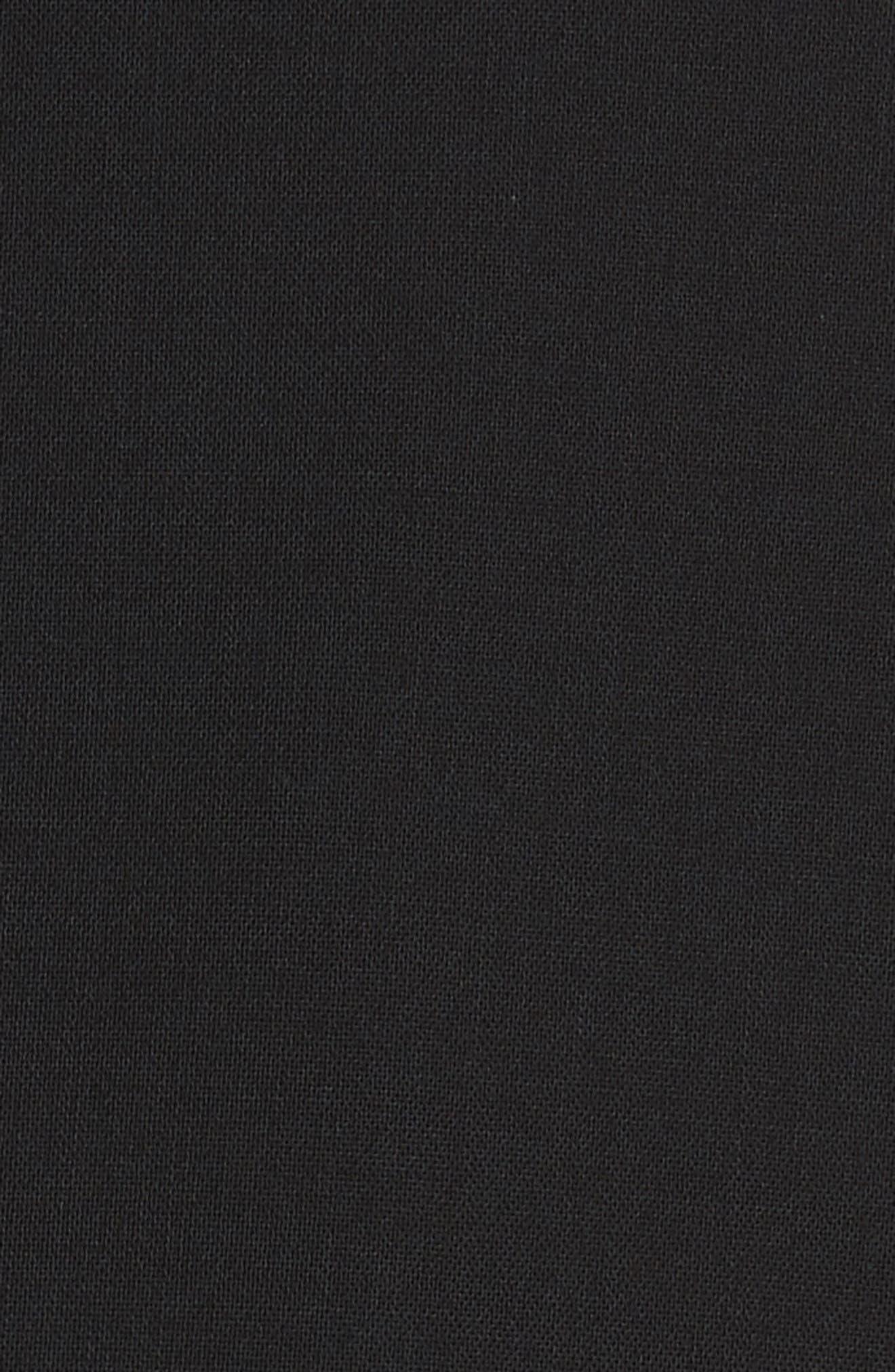 Giralda Stretch Wool Ruffle Jacket,                             Alternate thumbnail 6, color,