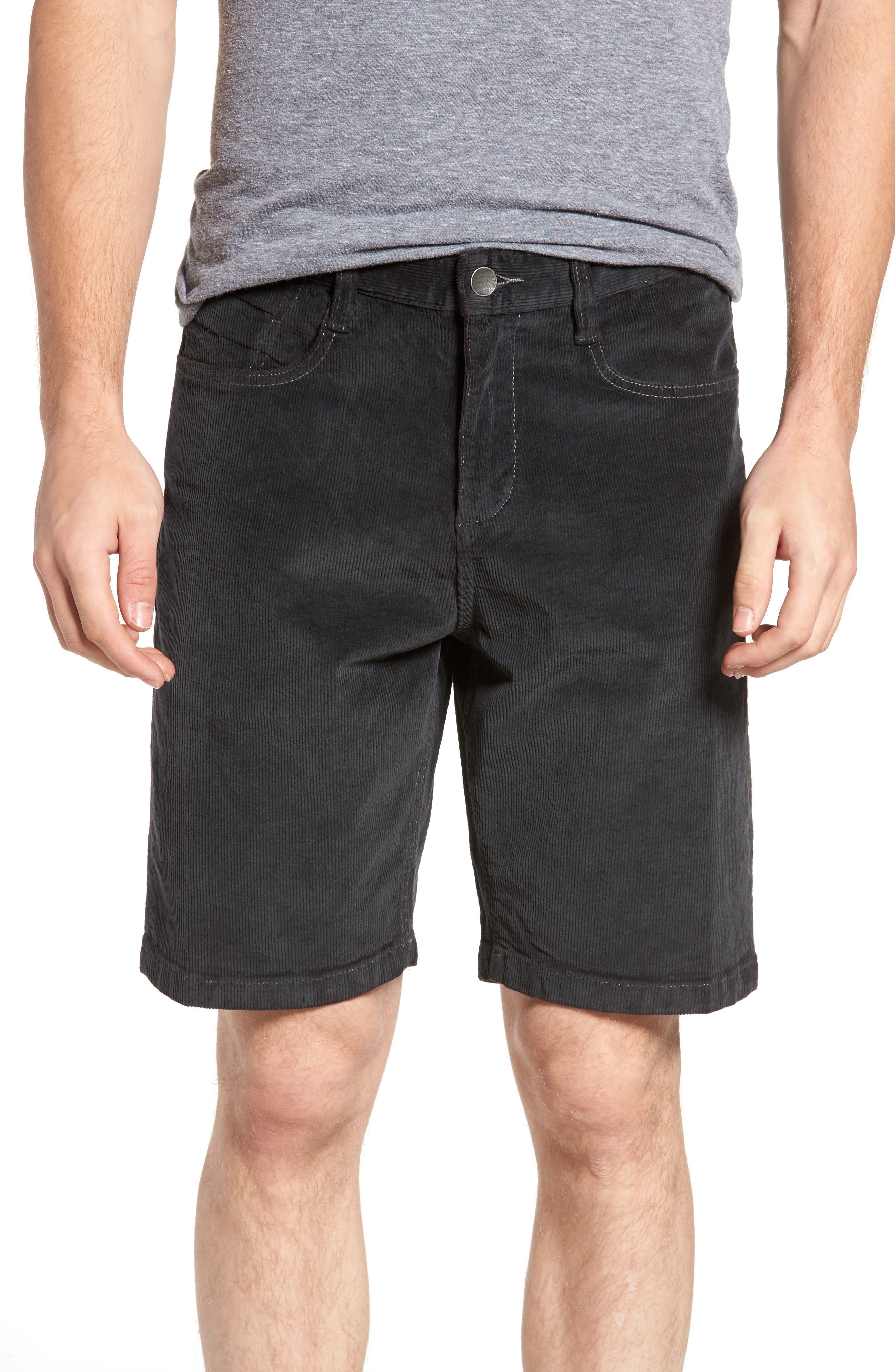 Outsider Corduroy Shorts,                         Main,                         color, 010