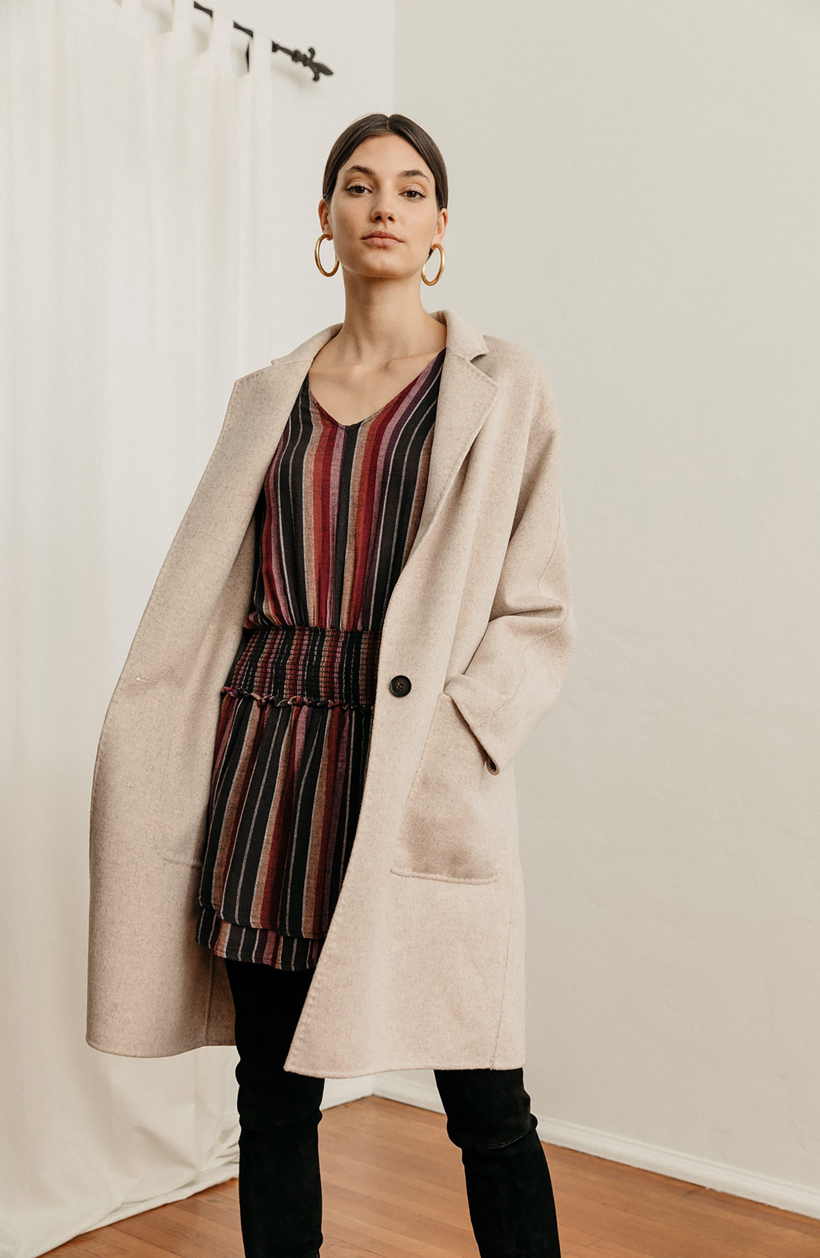 Everest Wool Blend Coat,                             Alternate thumbnail 9, color,                             905