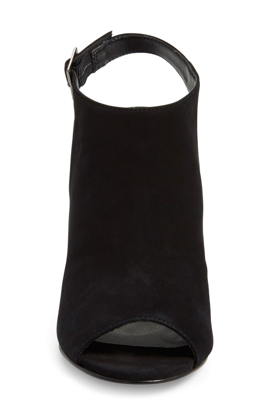 'Claara' Block Heel Sandal,                             Alternate thumbnail 3, color,                             005