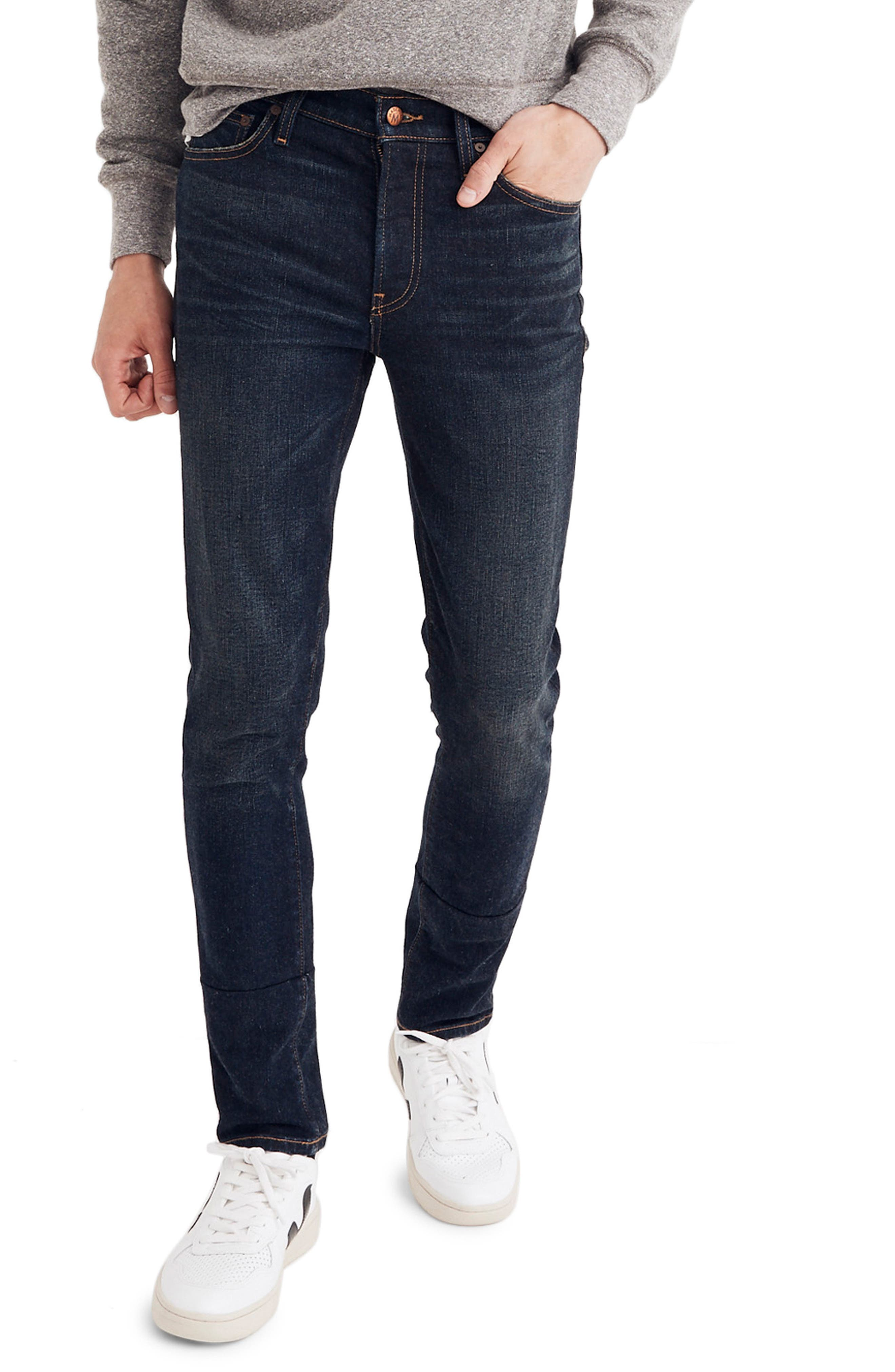 Skinny Fit Jeans,                         Main,                         color, HENEY