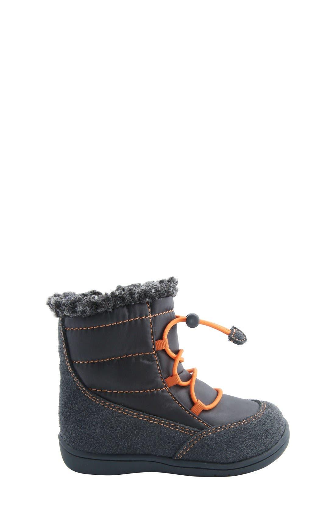 Nina 'Yolie' Lace-Up Boot,                             Alternate thumbnail 5, color,