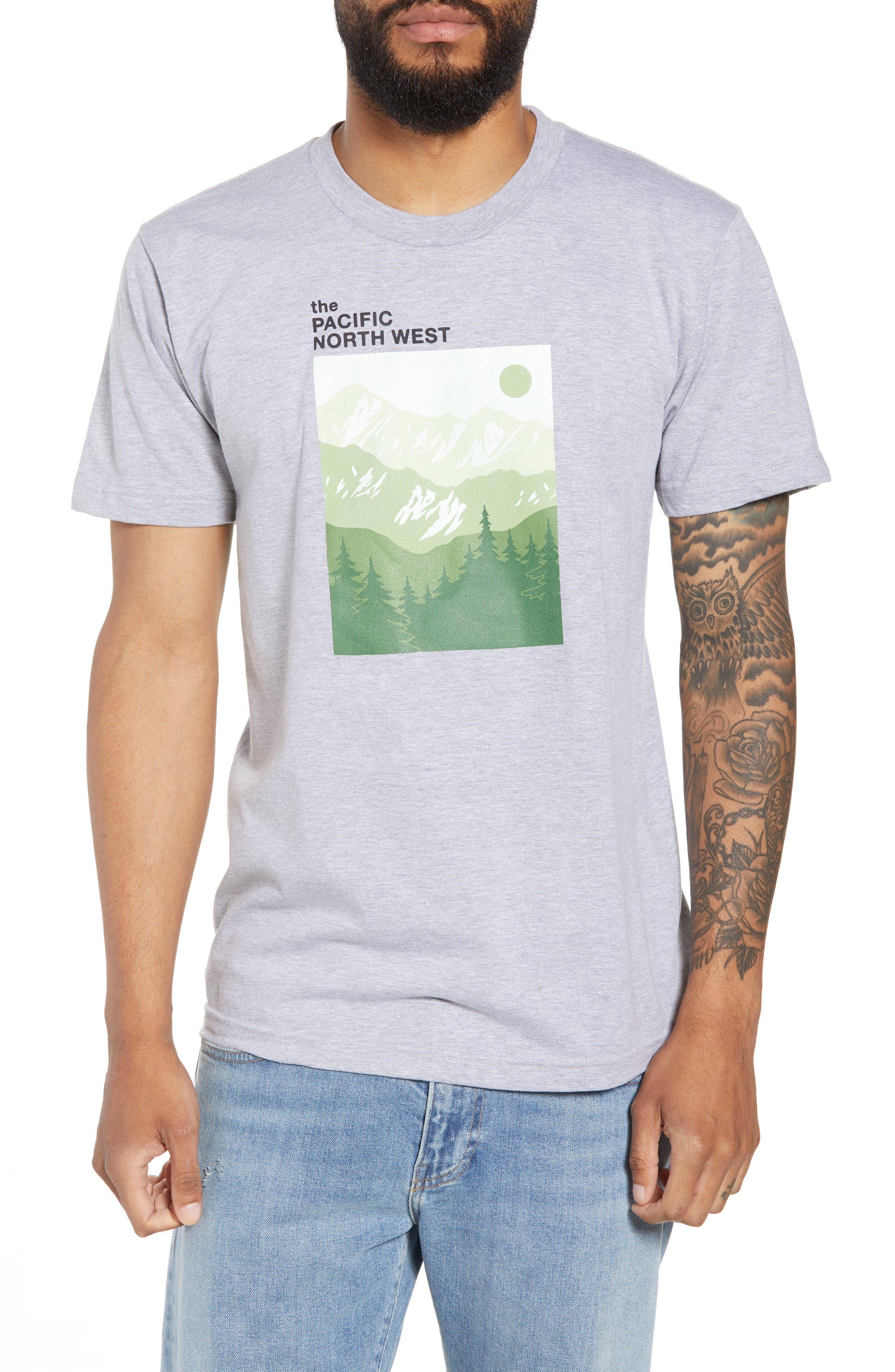 PNW Mountains Graphic T-Shirt,                             Main thumbnail 1, color,                             020