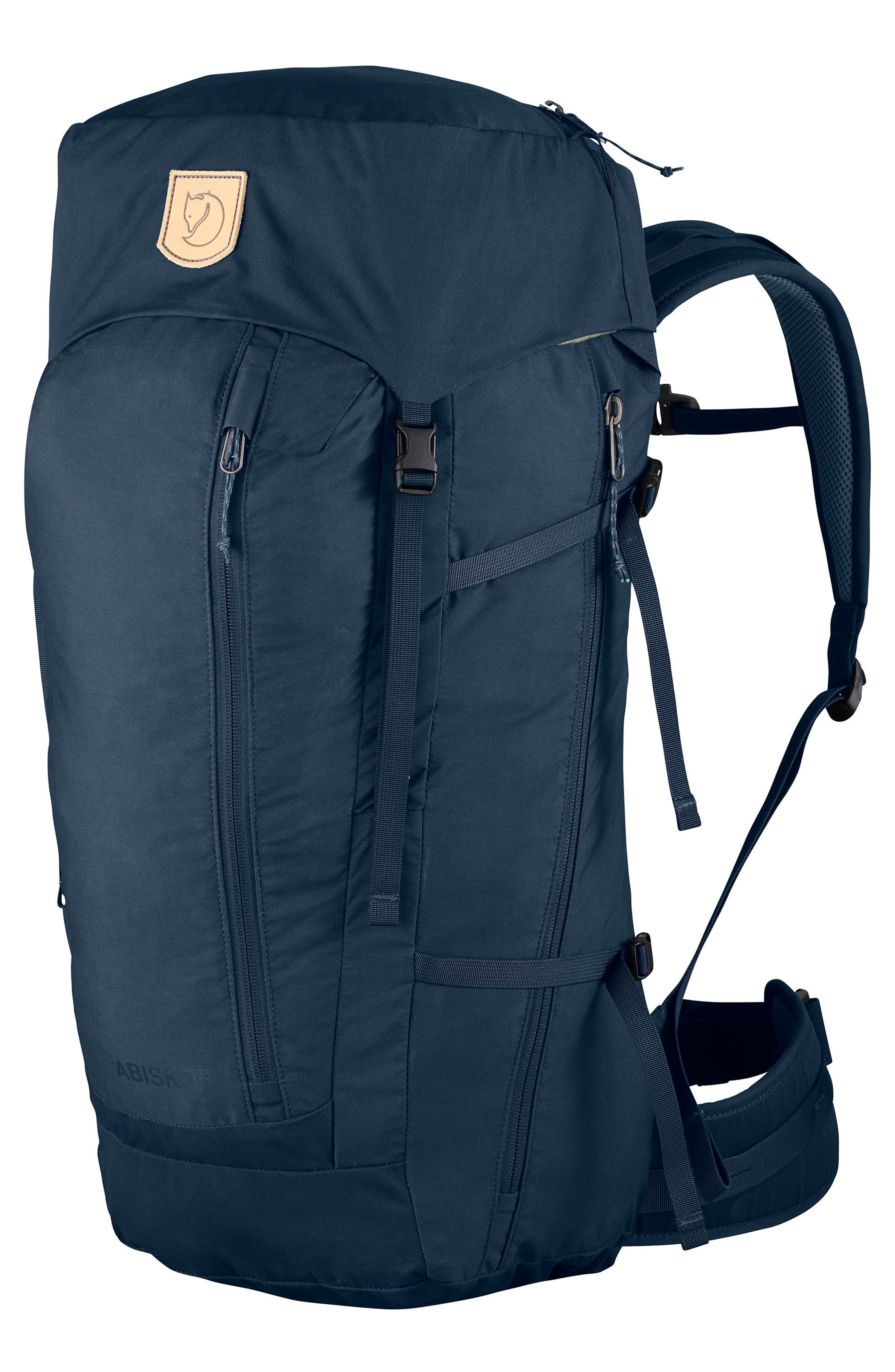 Abisko 35 Hiking Backpack,                         Main,                         color, NAVY