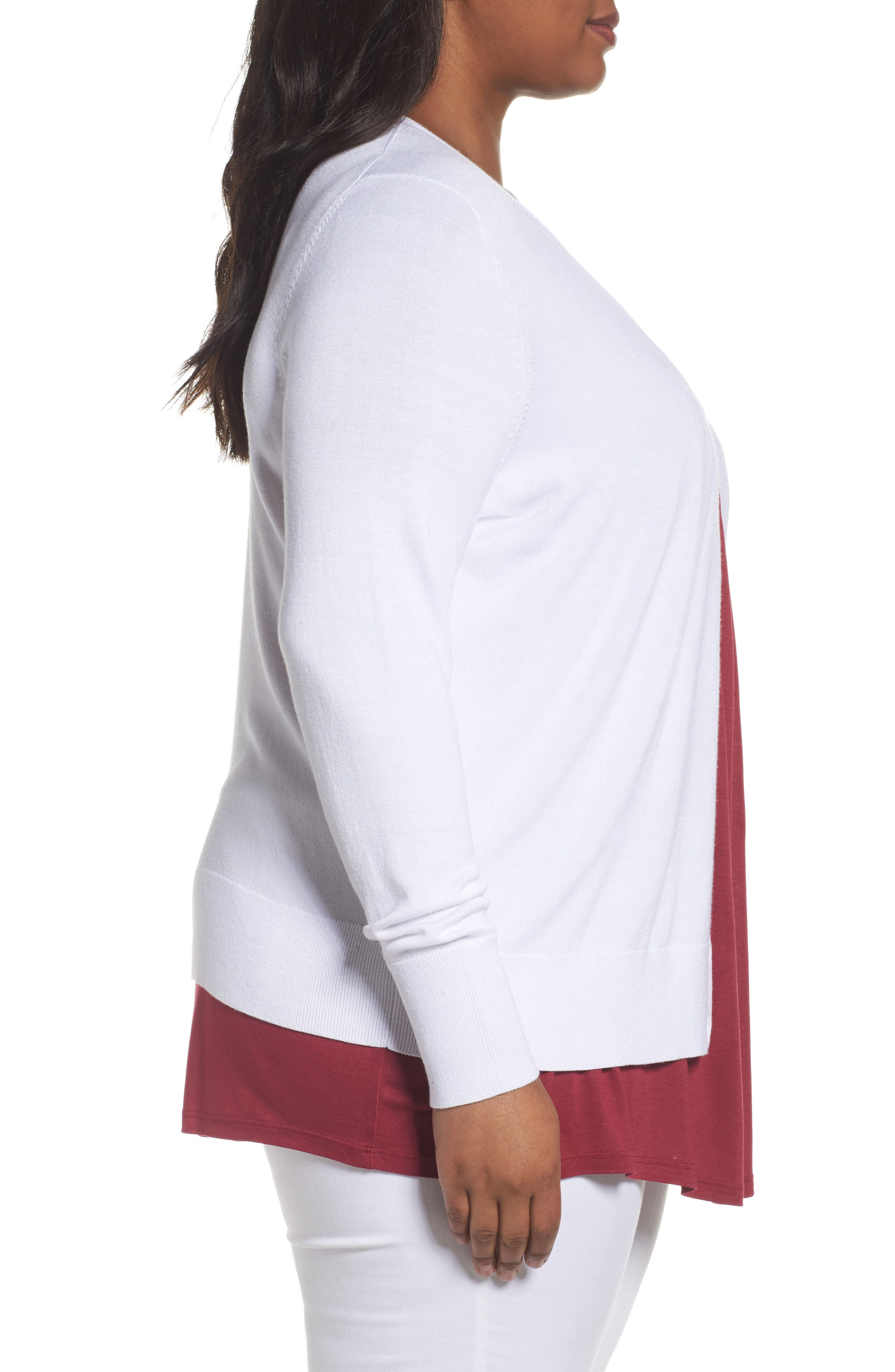 Button Front Cardigan,                             Alternate thumbnail 40, color,