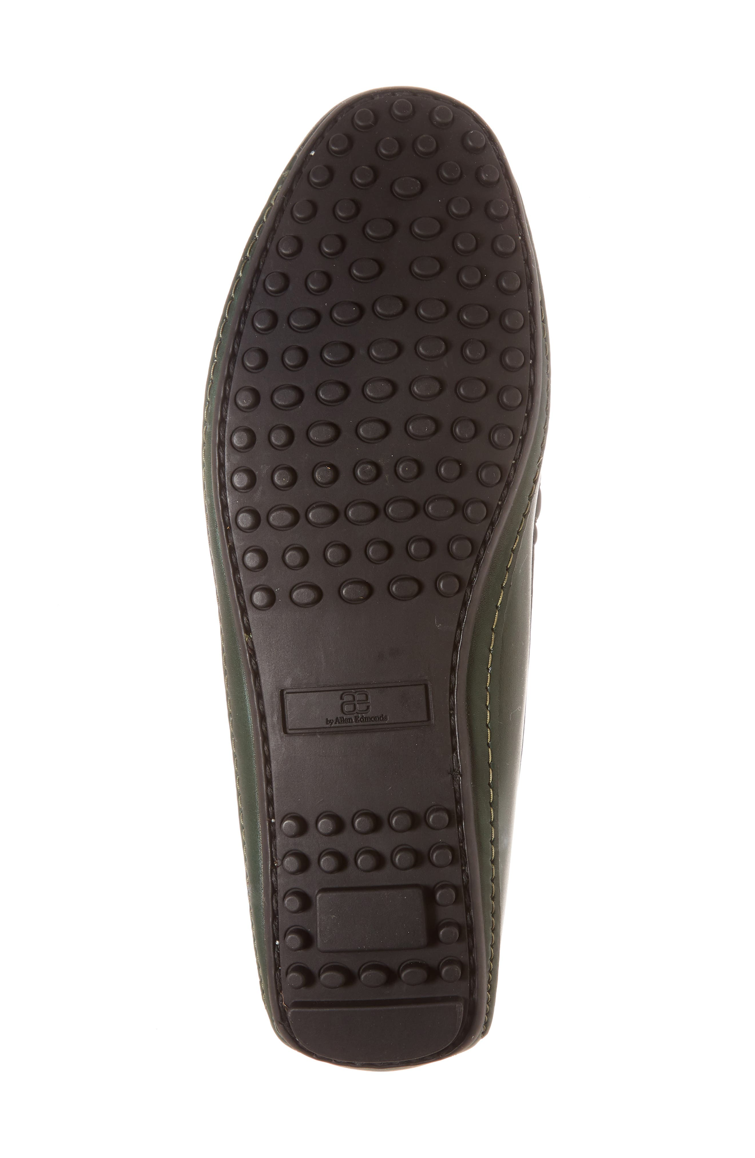 Siesta Key Penny Loafer,                             Alternate thumbnail 6, color,                             GREEN LEATHER