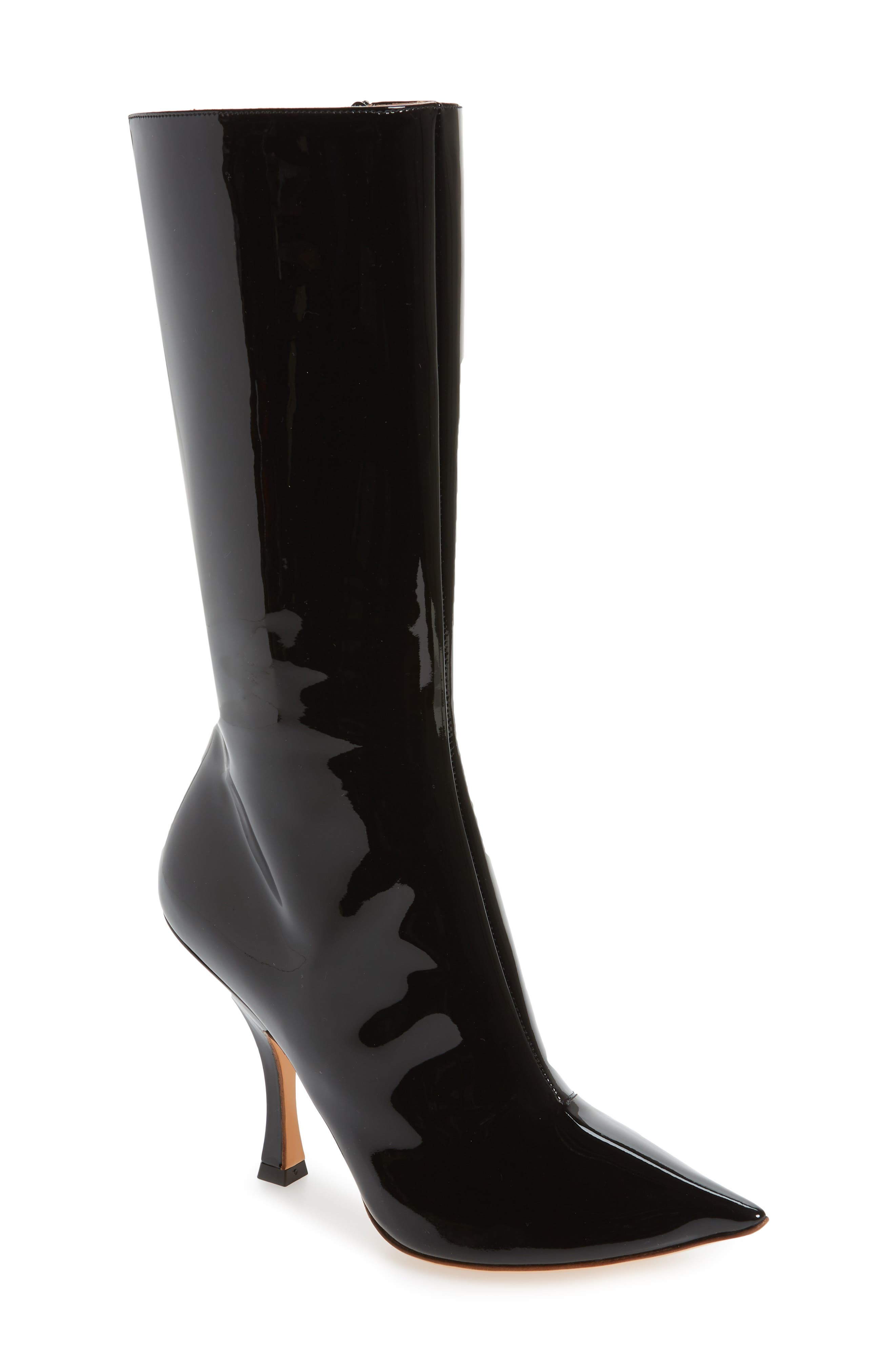Pointy Toe Boot,                         Main,                         color, 001