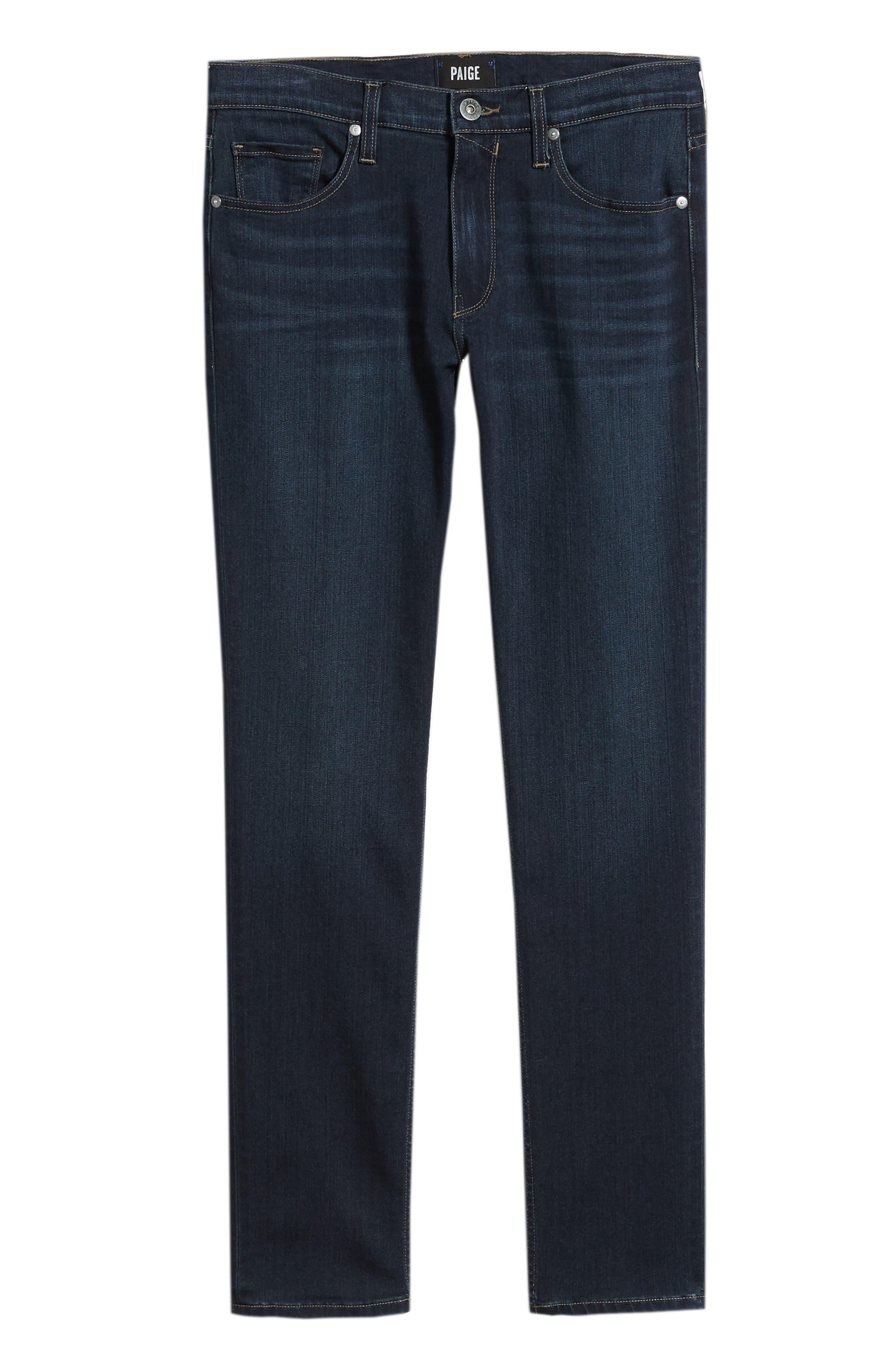 Transcend – Lennox Slim Fit Jeans,                             Alternate thumbnail 6, color,                             HALE